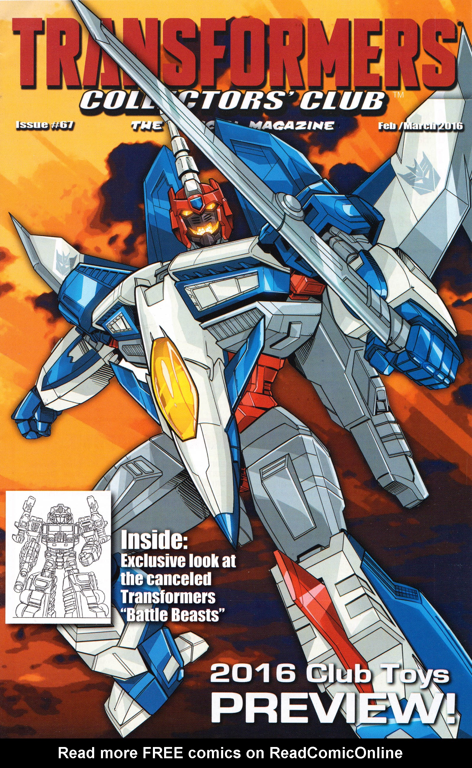 Read online Transformers: Collectors' Club comic -  Issue #67 - 1