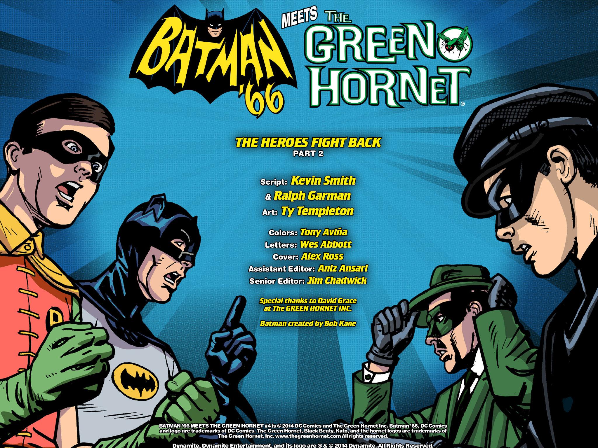 Read online Batman '66 Meets the Green Hornet [II] comic -  Issue #4 - 119