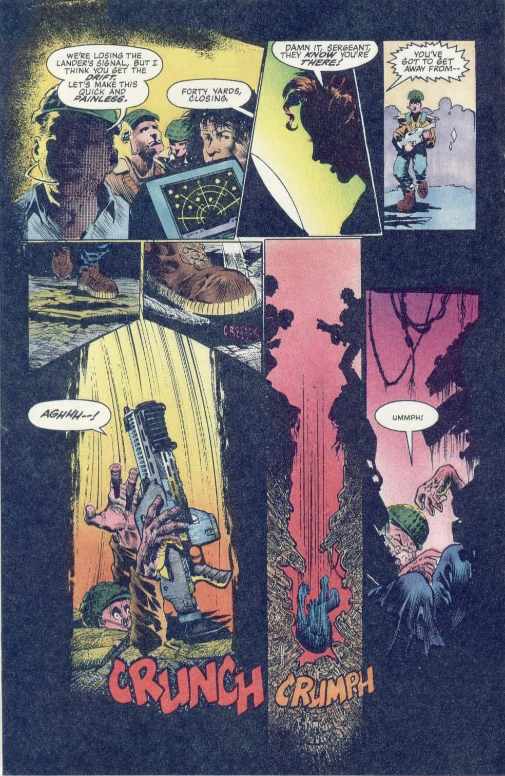 Read online Aliens: Earth War comic -  Issue #1 - 18