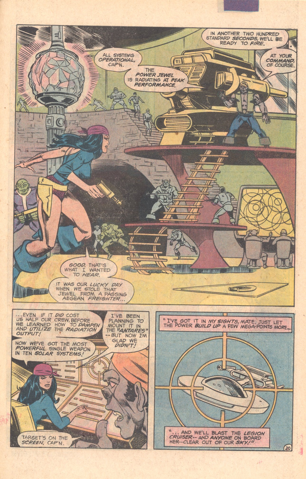 Legion of Super-Heroes (1980) 275 Page 20