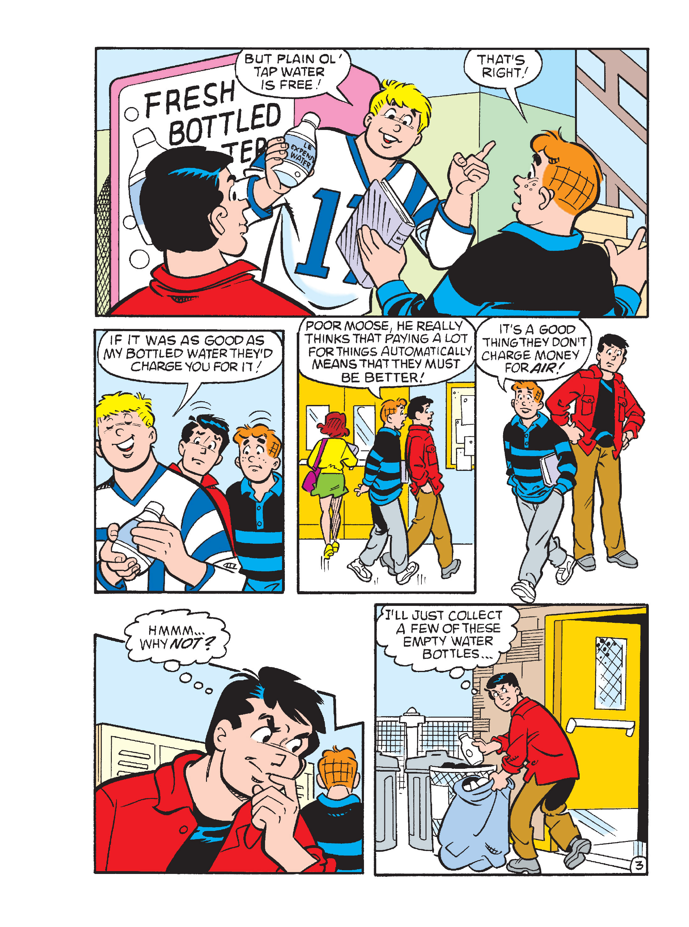 Read online Archie's Funhouse Double Digest comic -  Issue #15 - 162