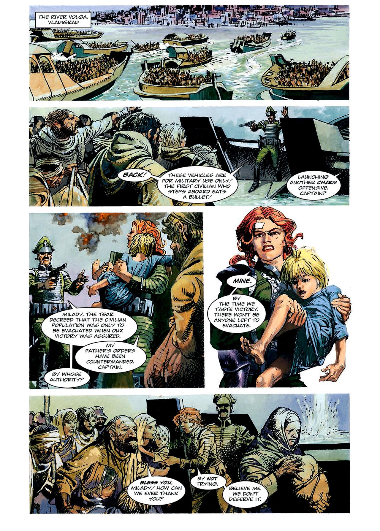 Read online Nikolai Dante comic -  Issue # TPB 4 - 86
