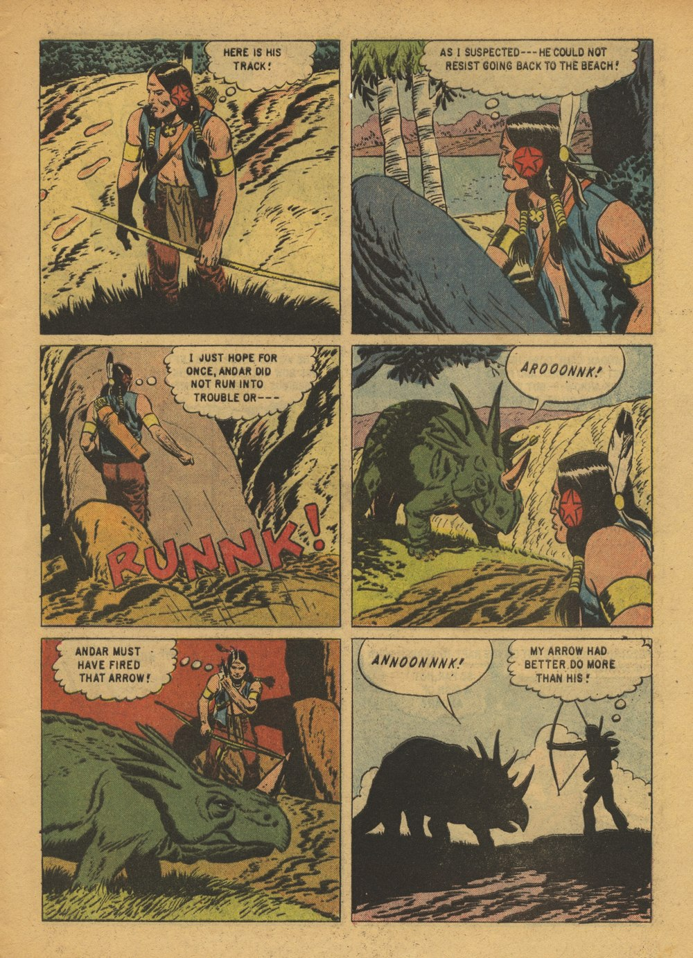 Read online Turok, Son of Stone comic -  Issue #15 - 5