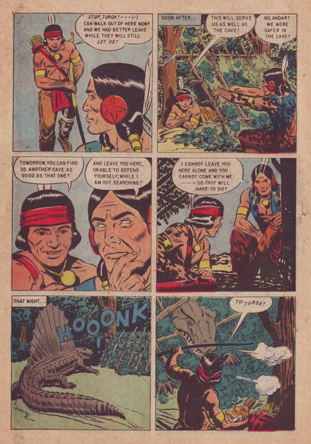 Read online Turok, Son of Stone comic -  Issue #9 - 10