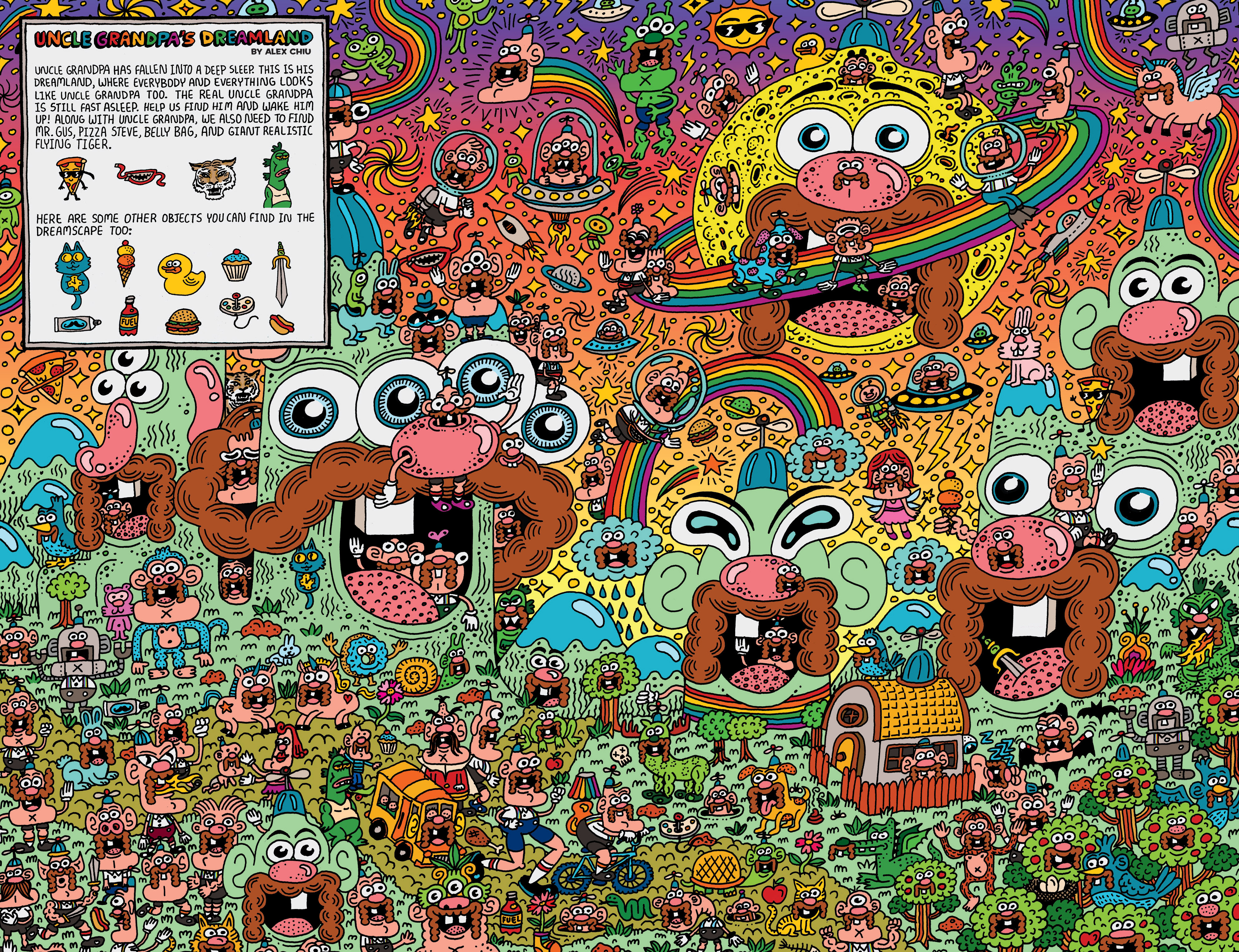 Read online Uncle Grandpa comic -  Issue #3 - 8