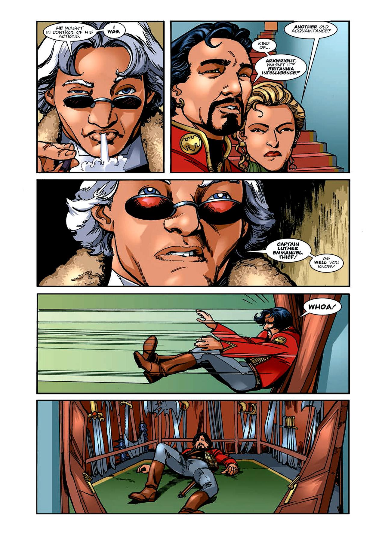 Read online Nikolai Dante comic -  Issue # TPB 6 - 71