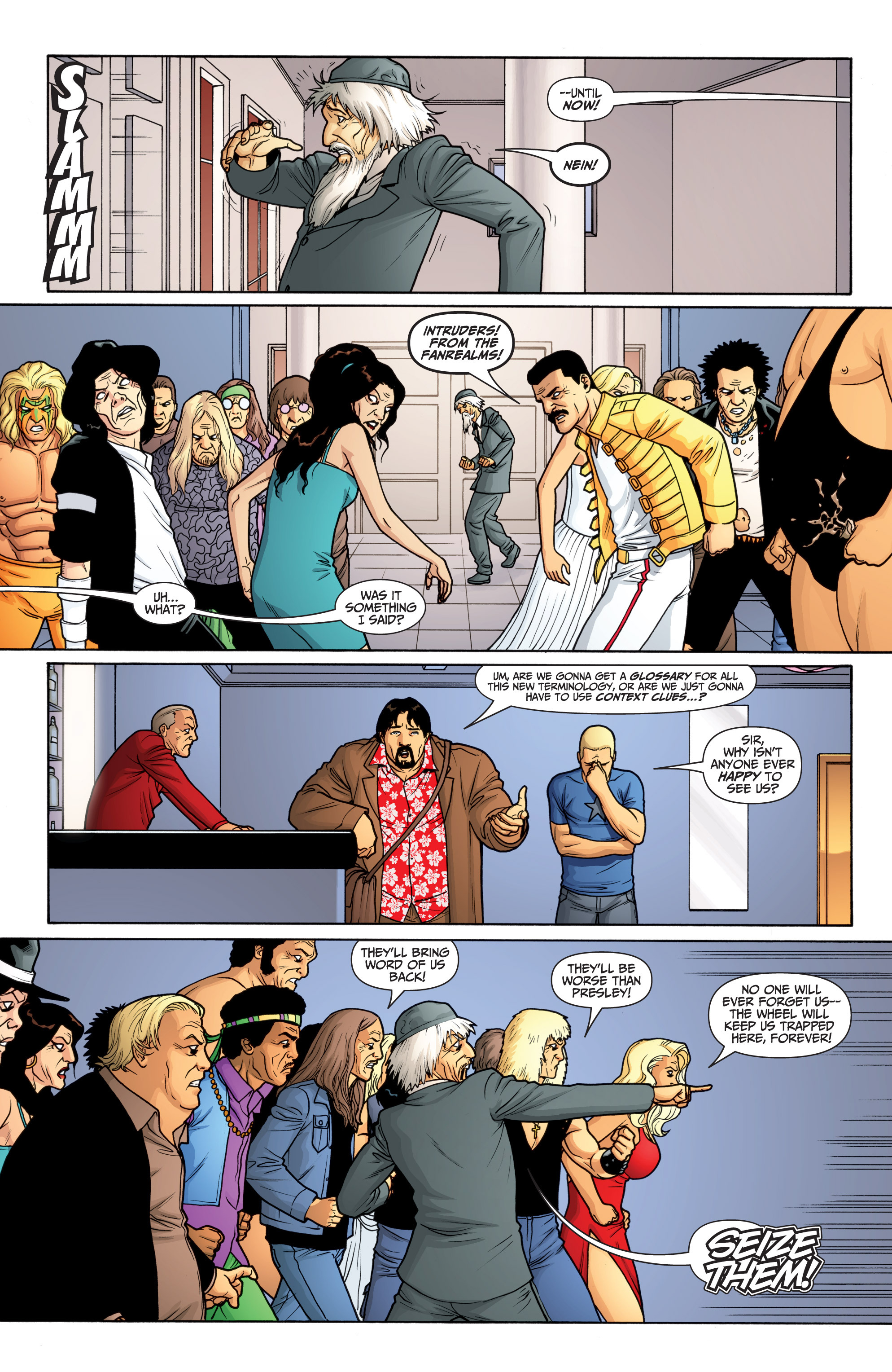 Read online Archer and Armstrong comic -  Issue #Archer and Armstrong _TPB 6 - 36