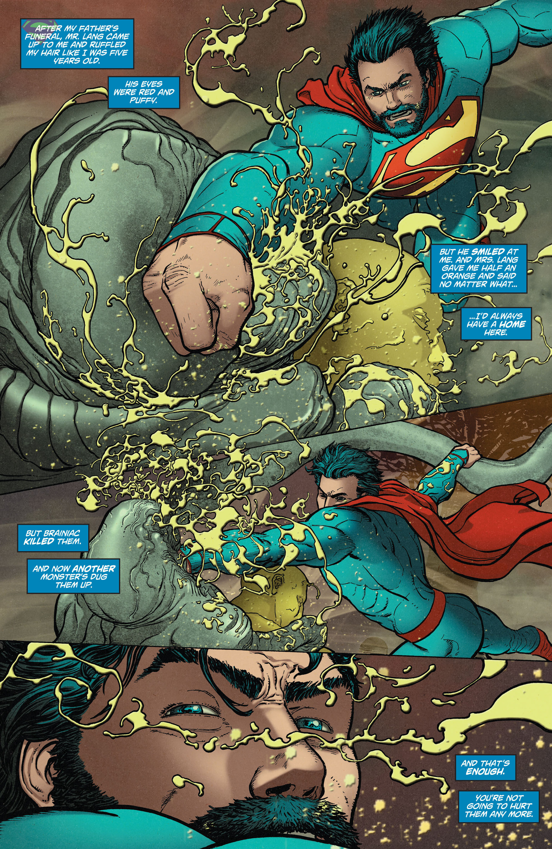 Read online Action Comics (2011) comic -  Issue #36 - 16