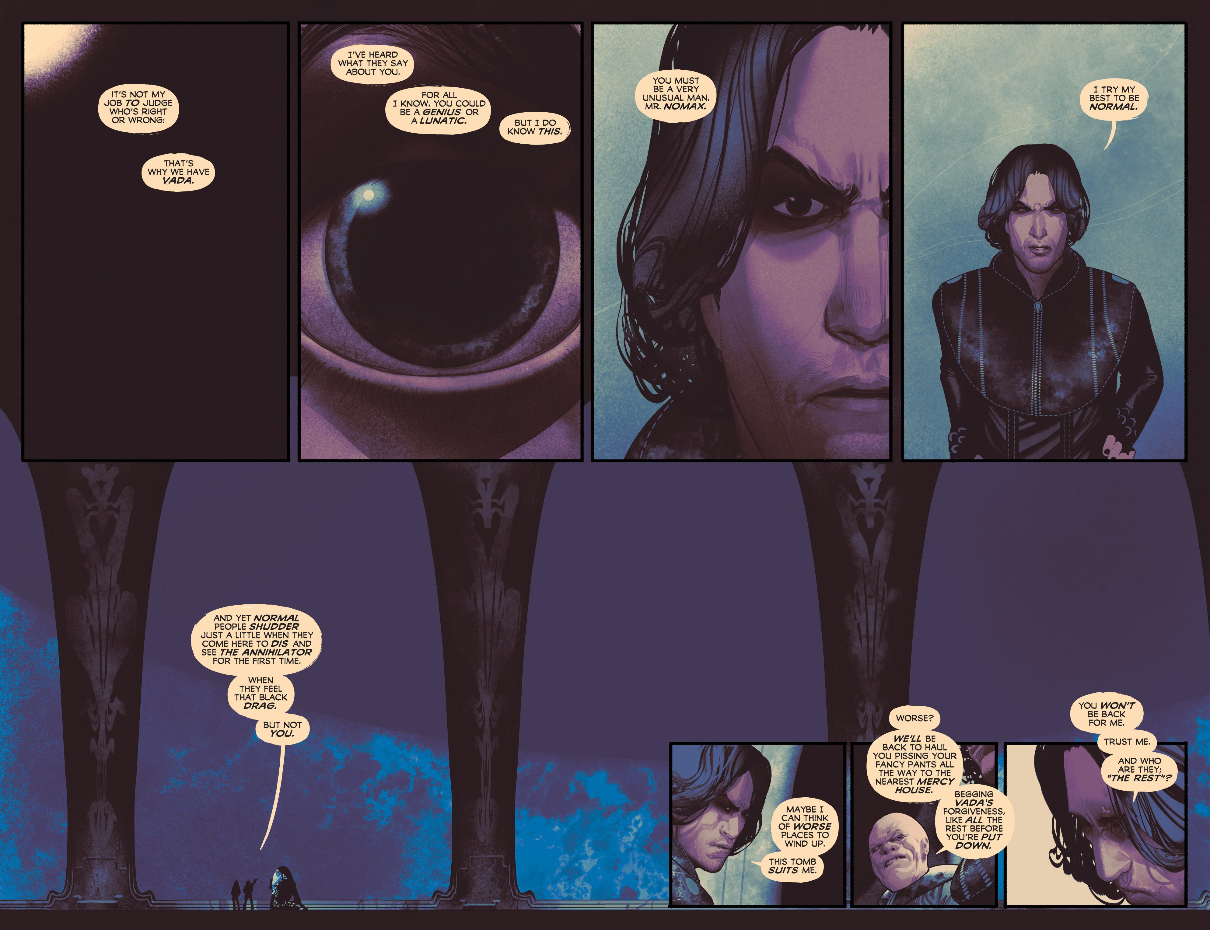 Read online Annihilator comic -  Issue #1 - 12