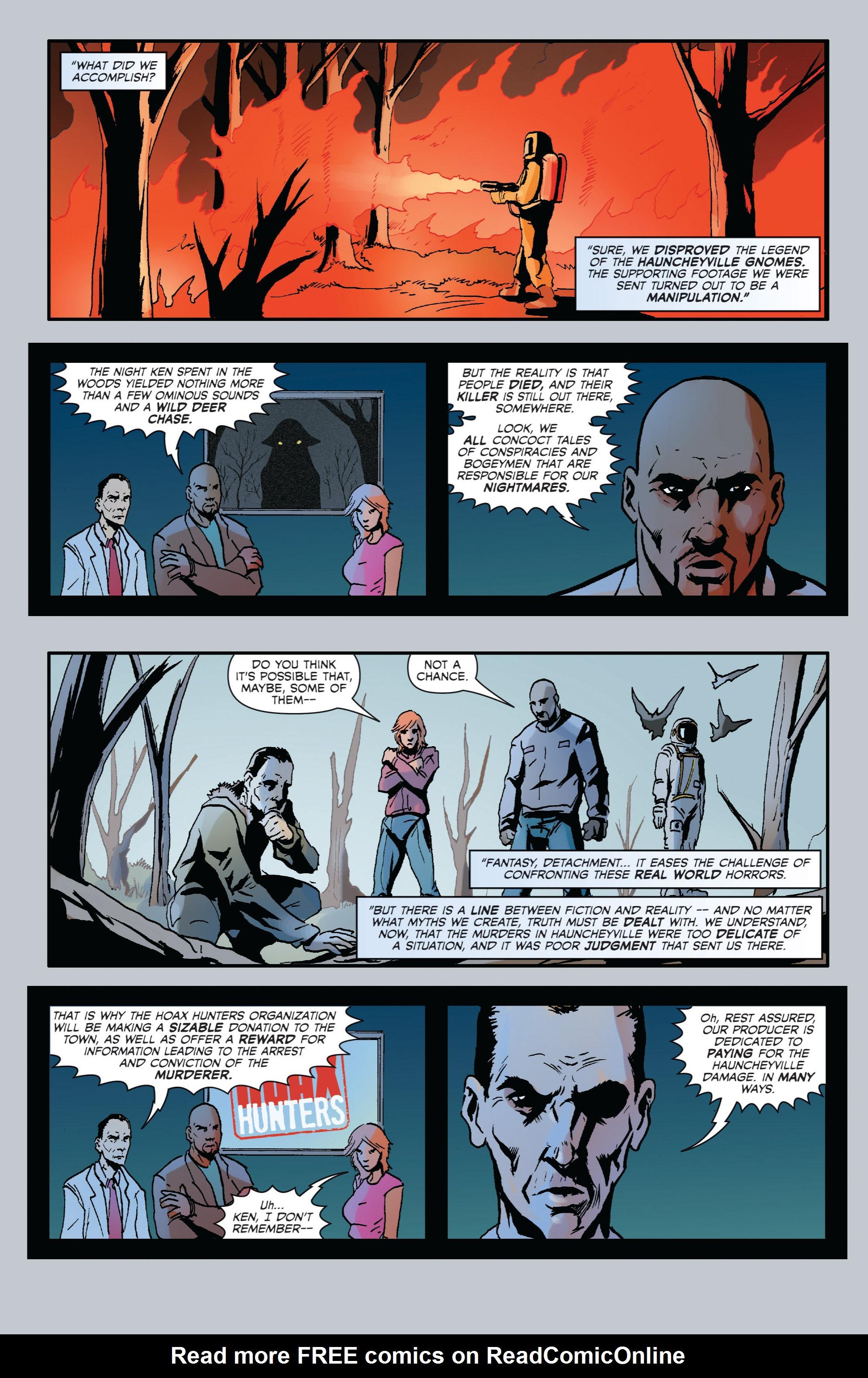Read online Hoax Hunters (2012) comic -  Issue # TPB 2 - 51