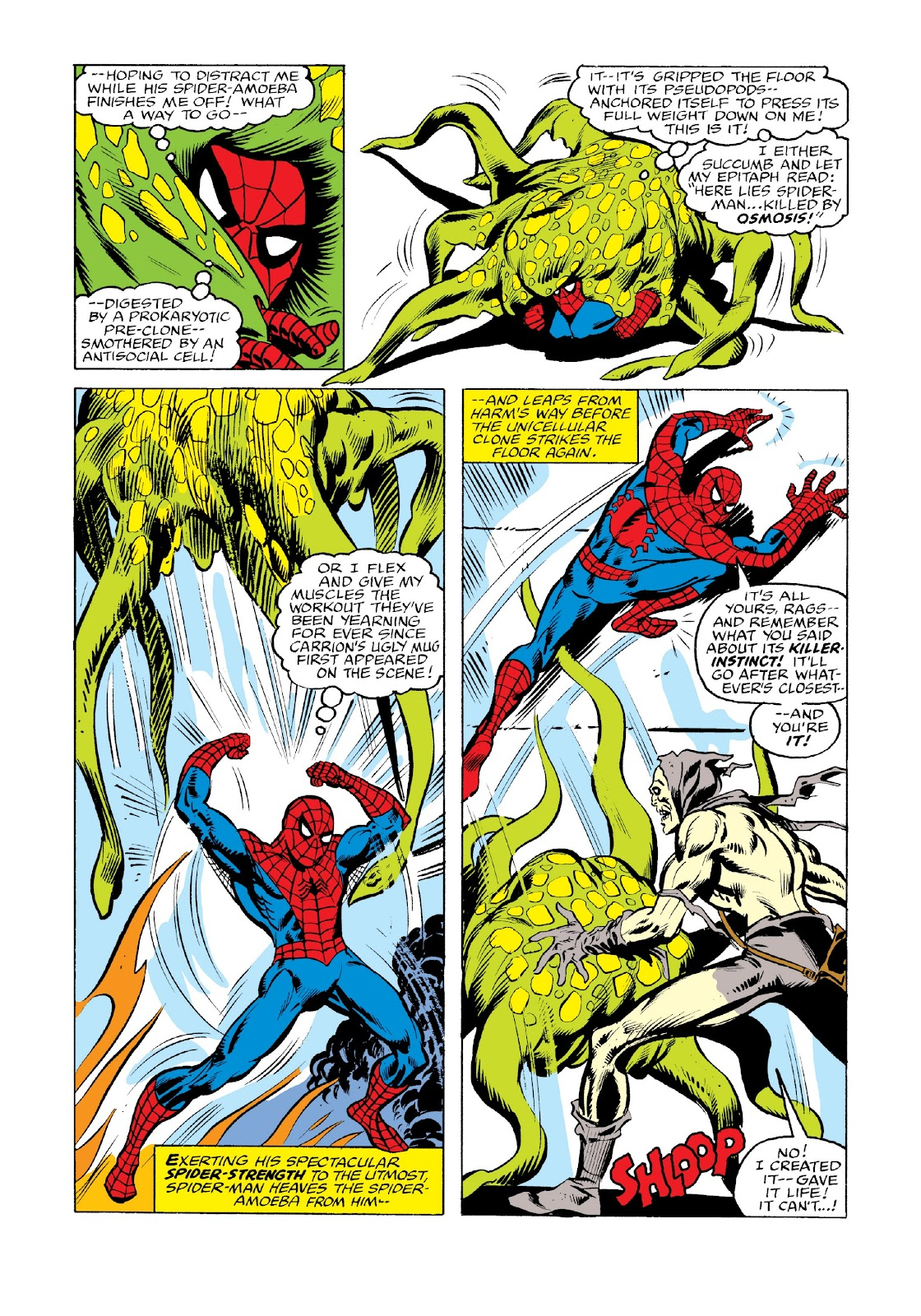 Read online Marvel Masterworks: The Spectacular Spider-Man comic -  Issue # TPB 2 (Part 3) - 93