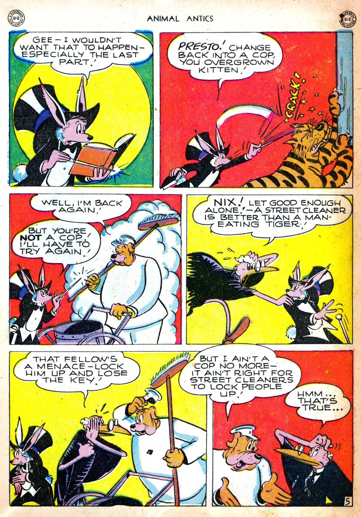 Read online Animal Antics comic -  Issue #6 - 7