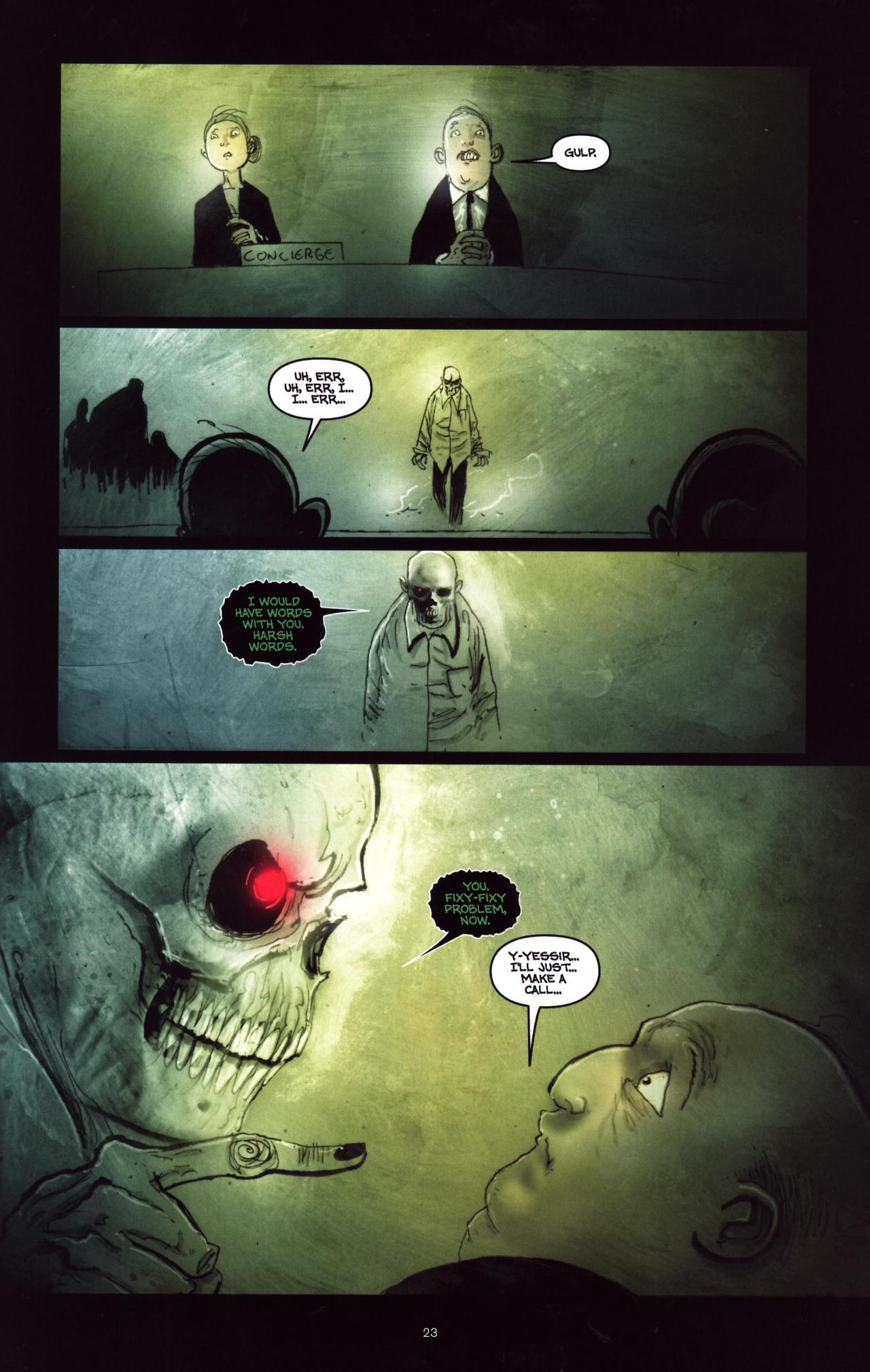 Read online Wormwood: Gentleman Corpse comic -  Issue #8 - 24
