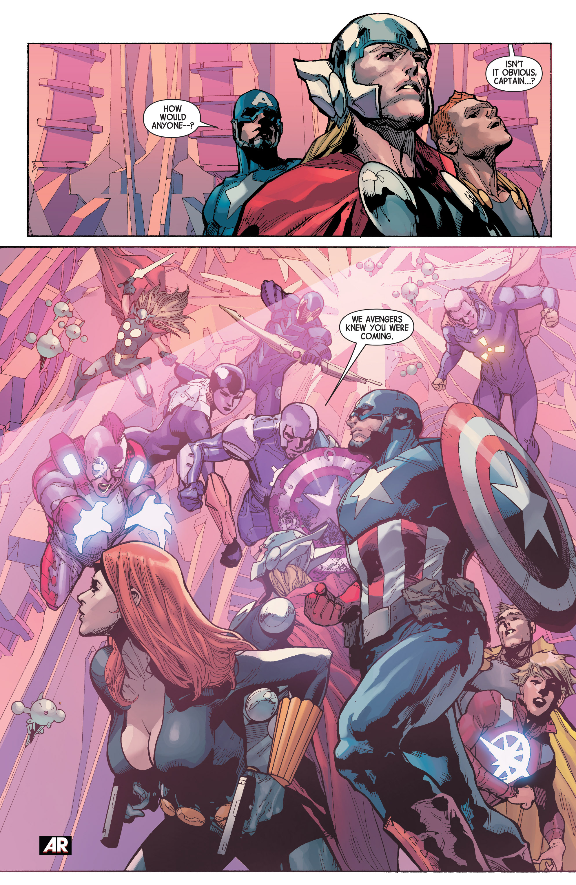 Read online Avengers (2013) comic -  Issue #31 - 8