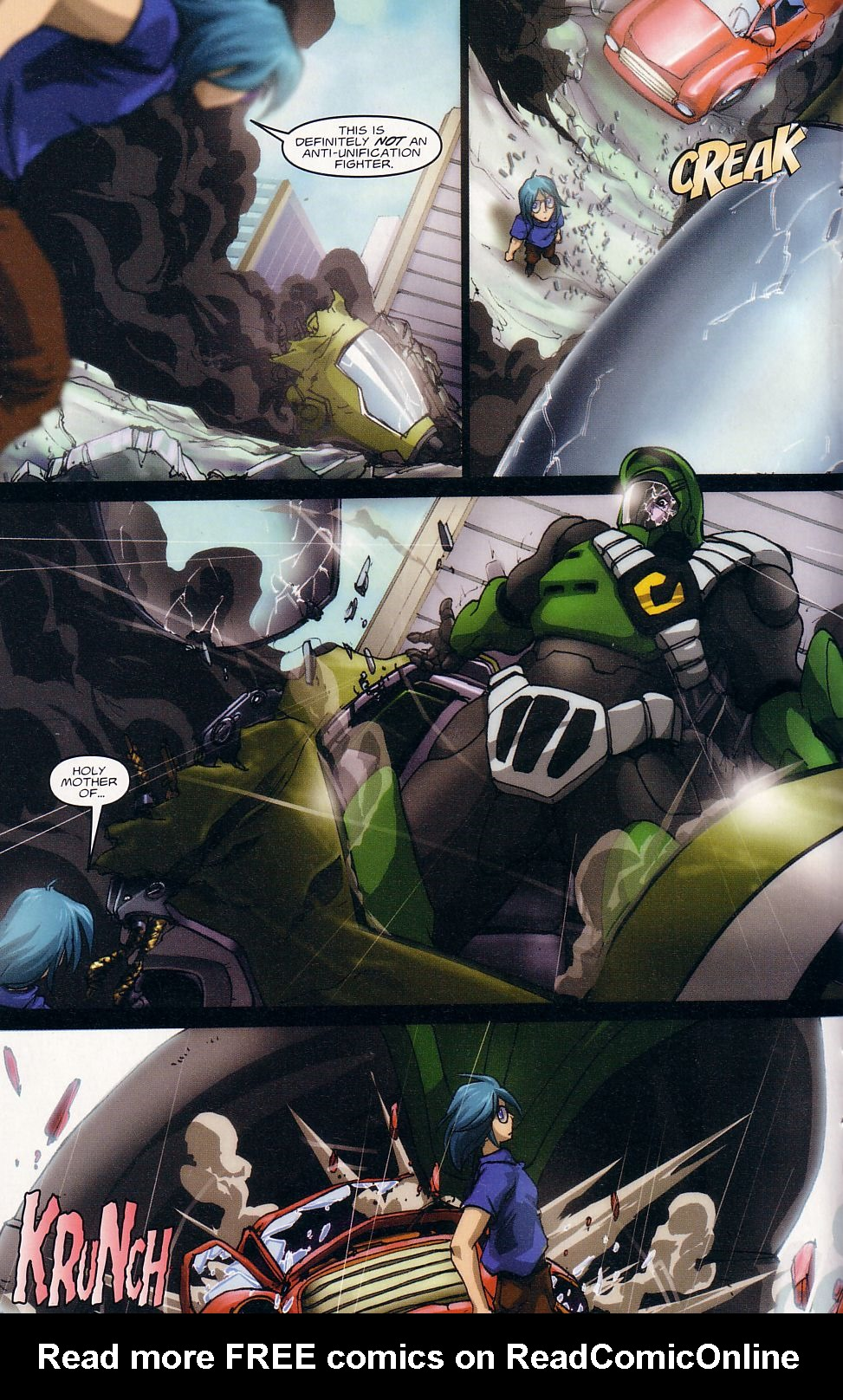 Read online Robotech: Love and War comic -  Issue #1 - 10