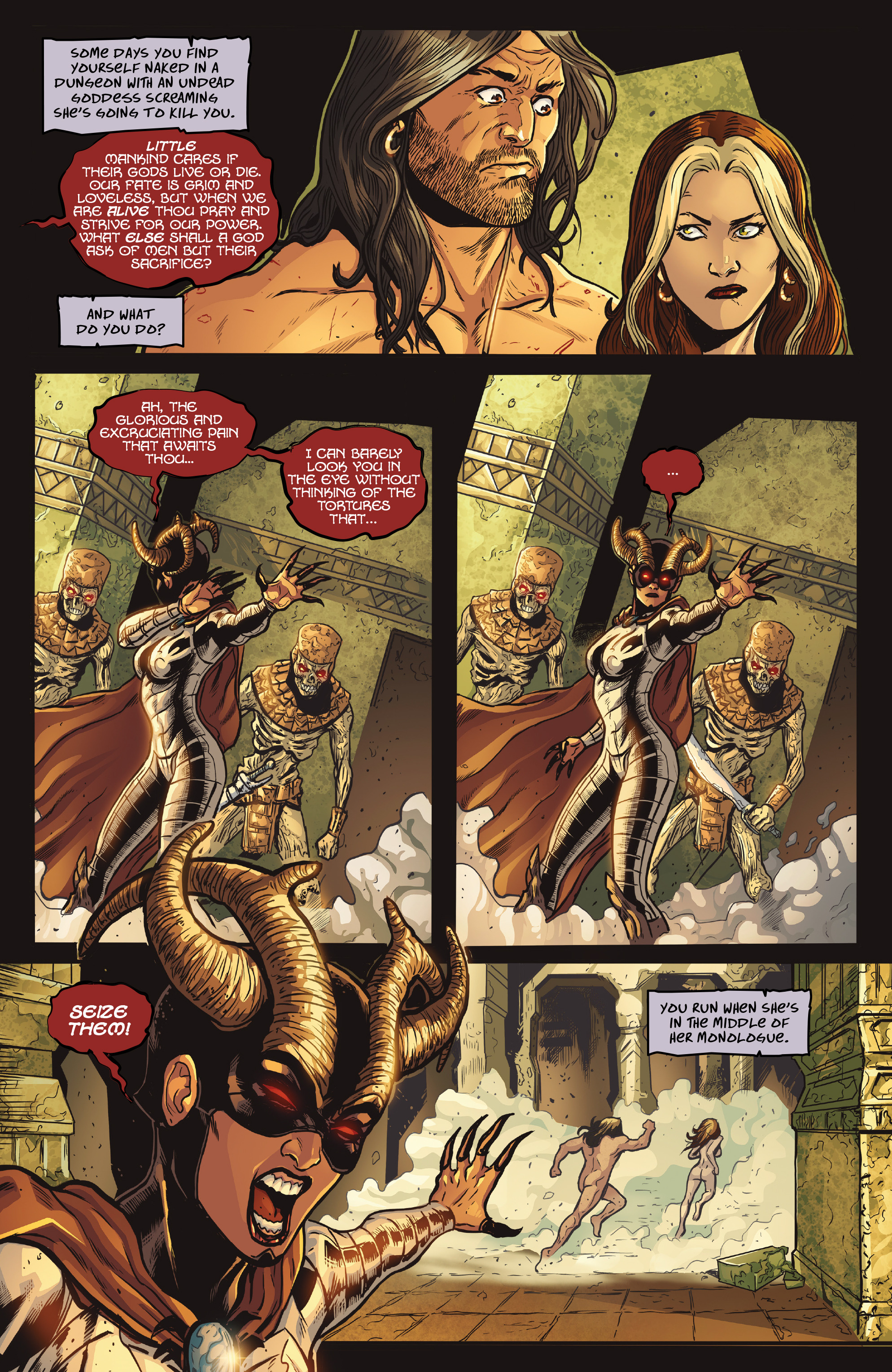 Read online Rogues!: The Burning Heart comic -  Issue #5 - 4