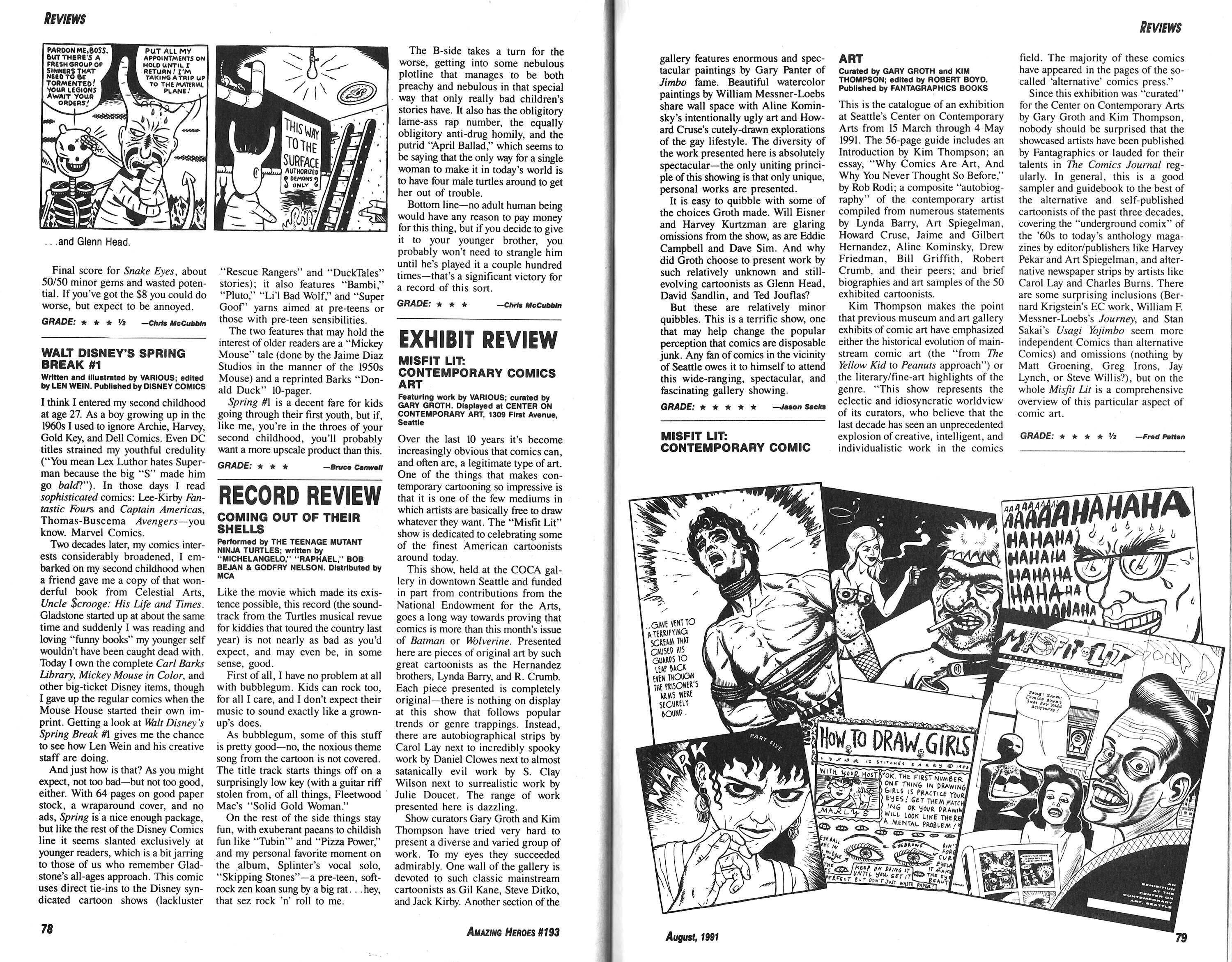Read online Amazing Heroes comic -  Issue #193 - 40