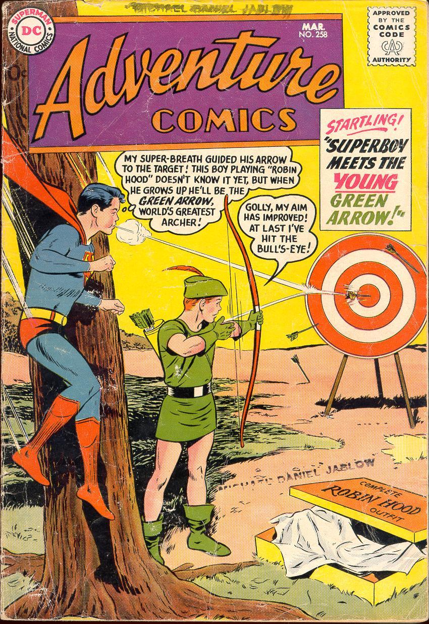 Read online Adventure Comics (1938) comic -  Issue #258 - 1