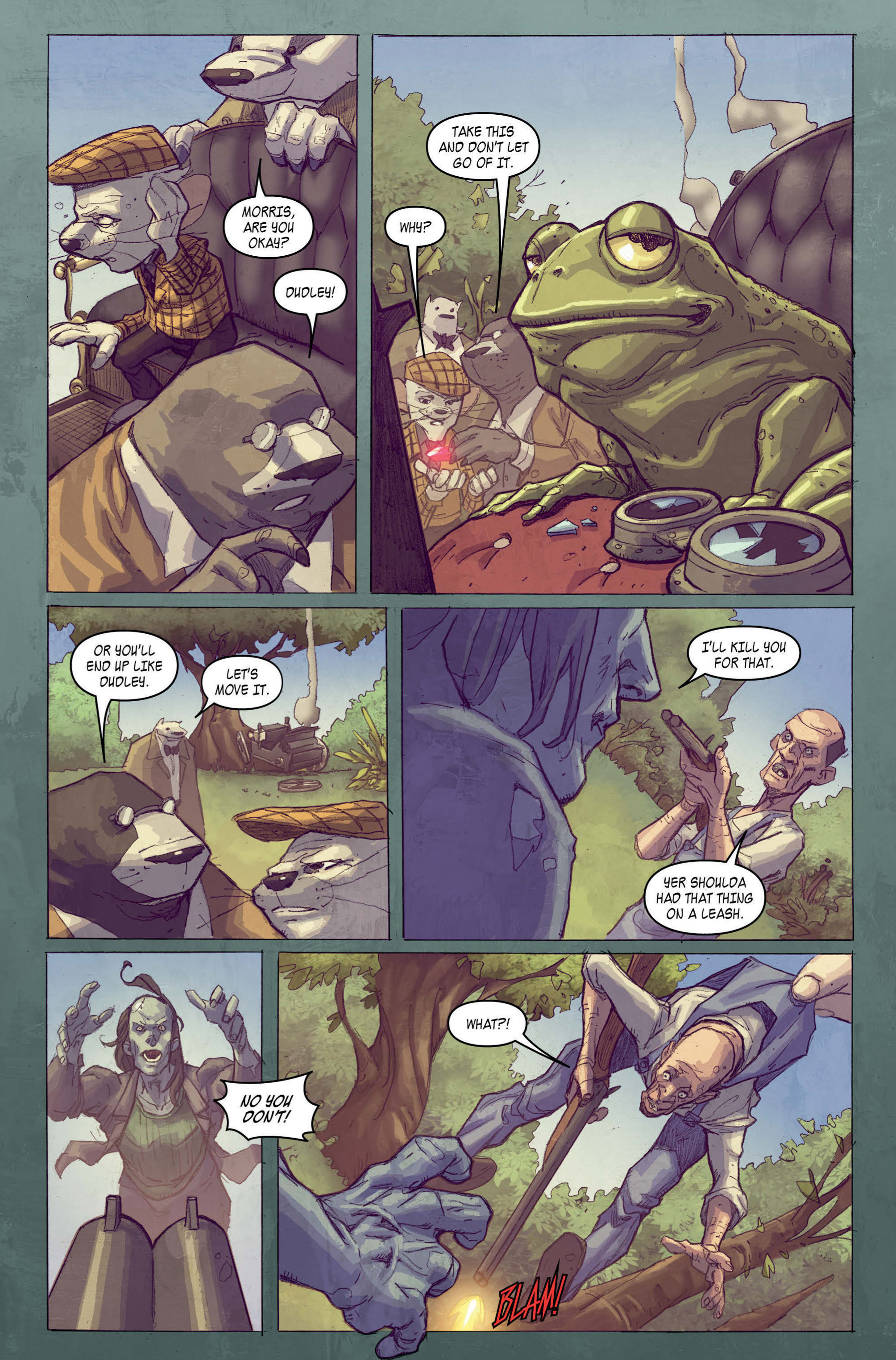 Read online A1 comic -  Issue #5 - 7