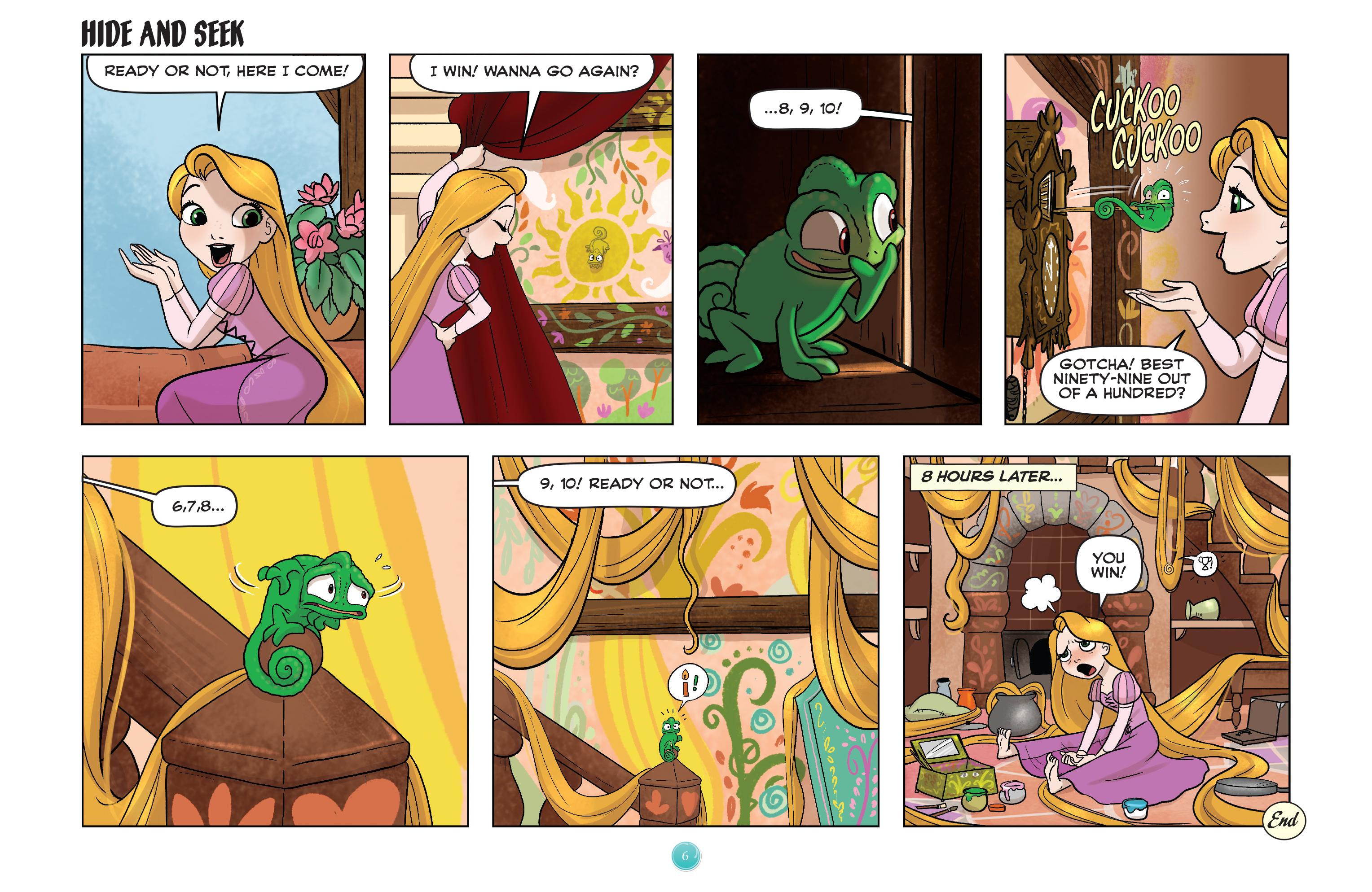 Read online Disney Princess comic -  Issue #7 - 9