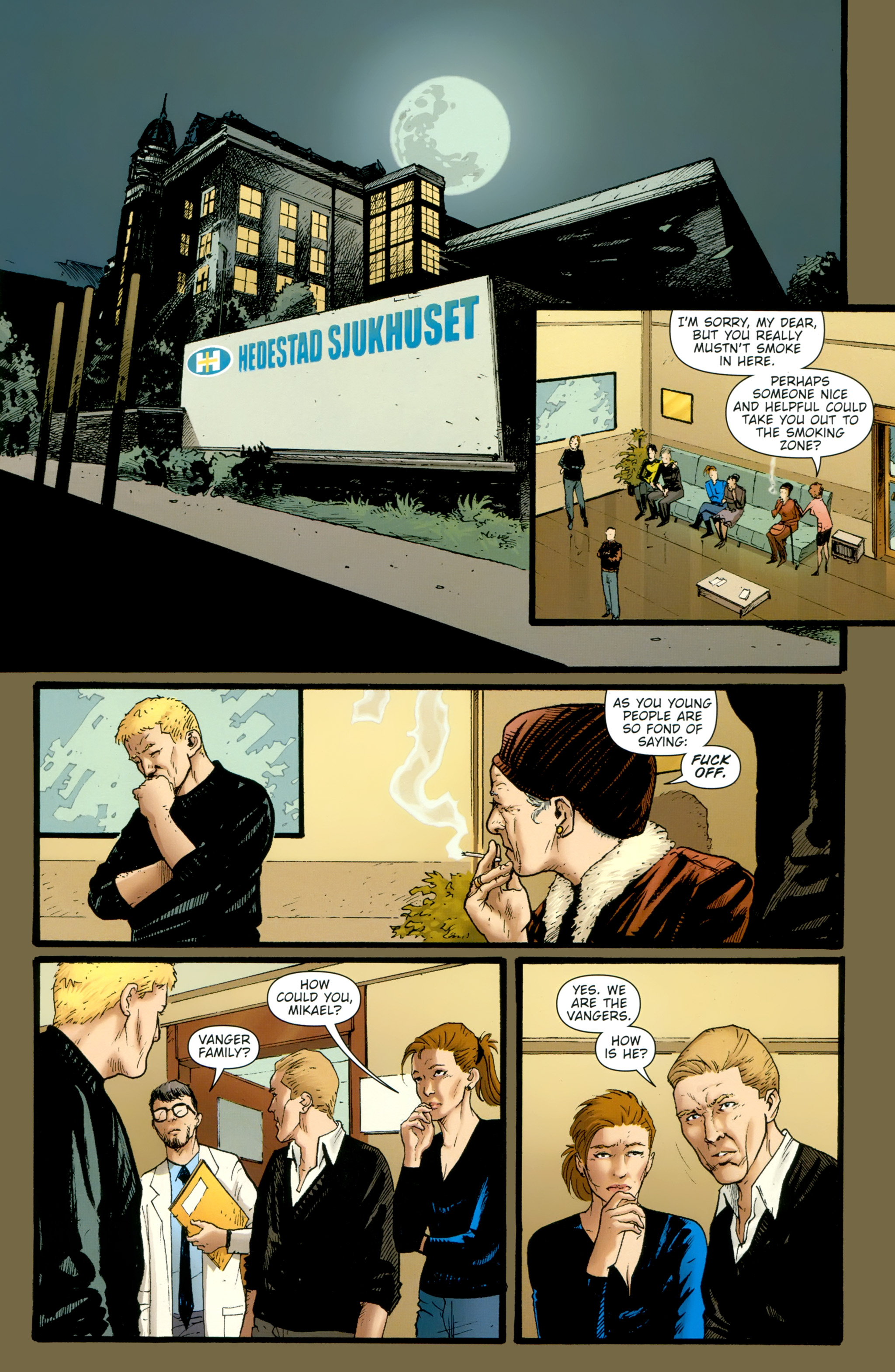 Read online The Girl With the Dragon Tattoo comic -  Issue # TPB 2 - 41
