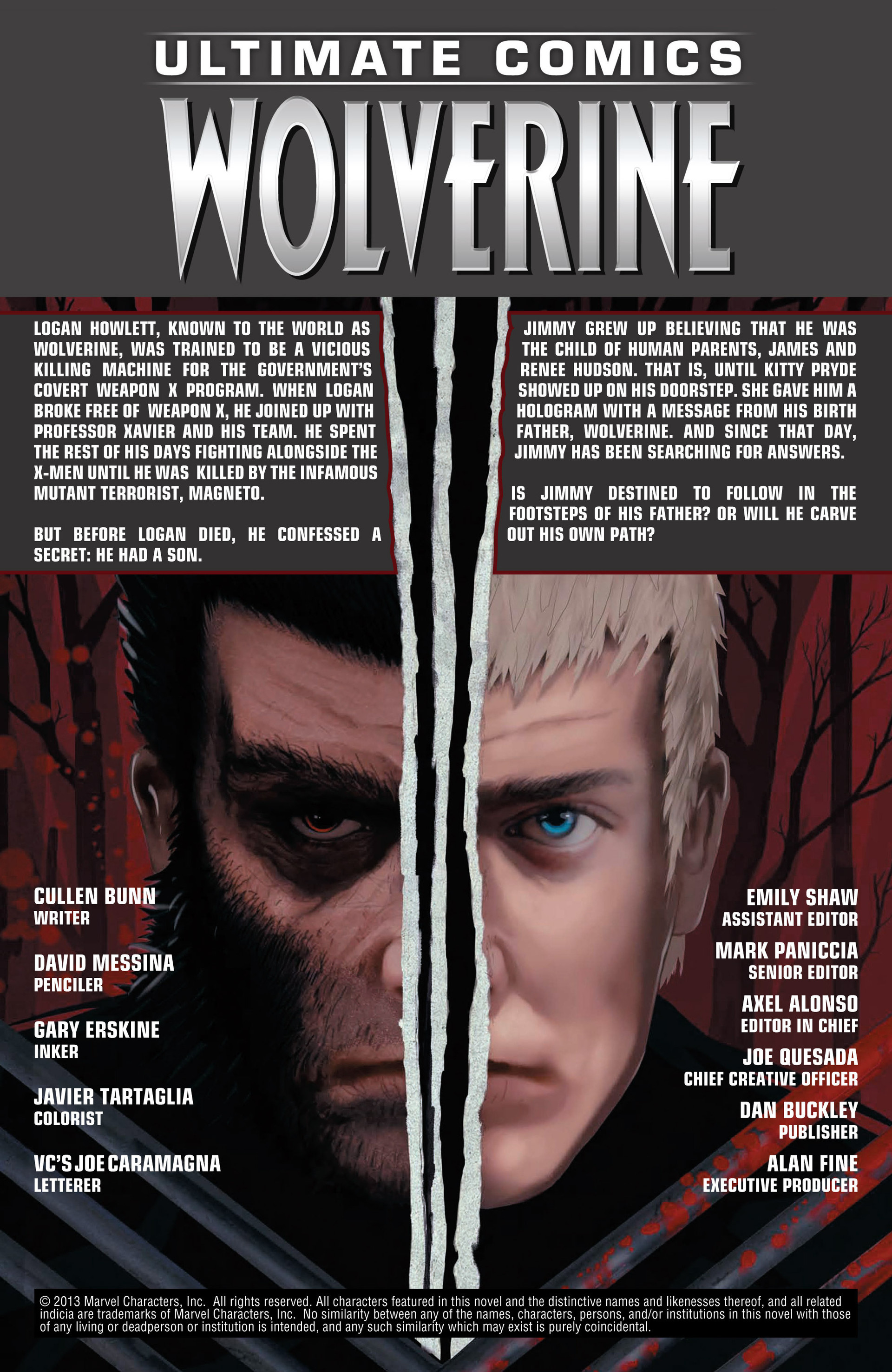 Read online Ultimate Comics Wolverine comic -  Issue #1 - 2