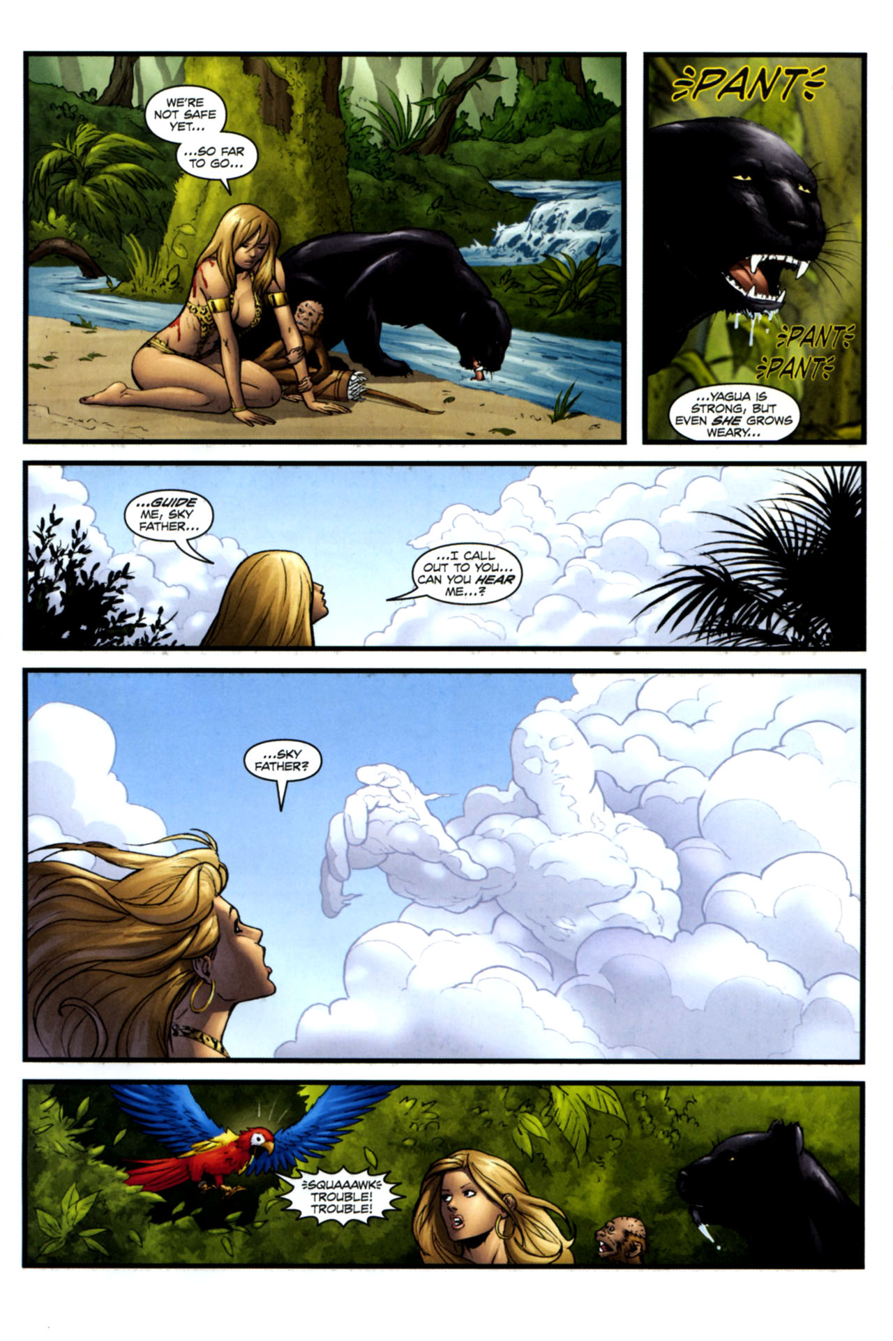 Read online Sheena, Queen of the Jungle comic -  Issue #4 - 10