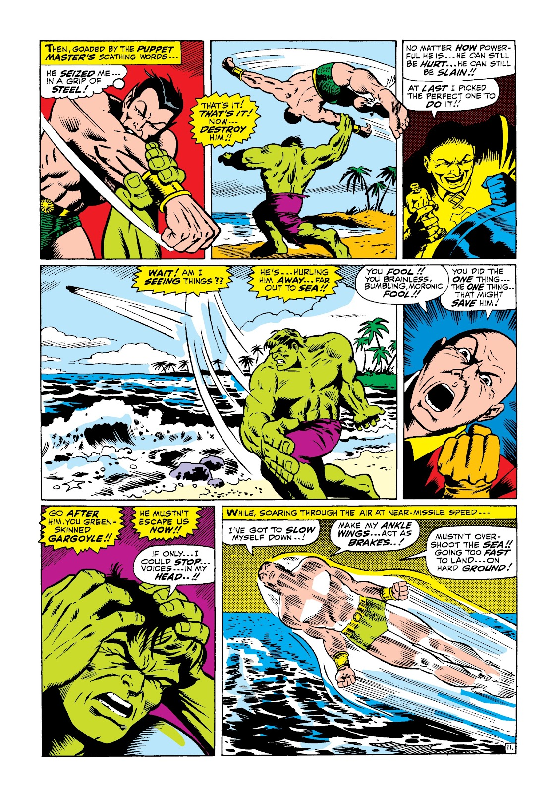 Read online Marvel Masterworks: The Incredible Hulk comic -  Issue # TPB 3 (Part 3) - 39