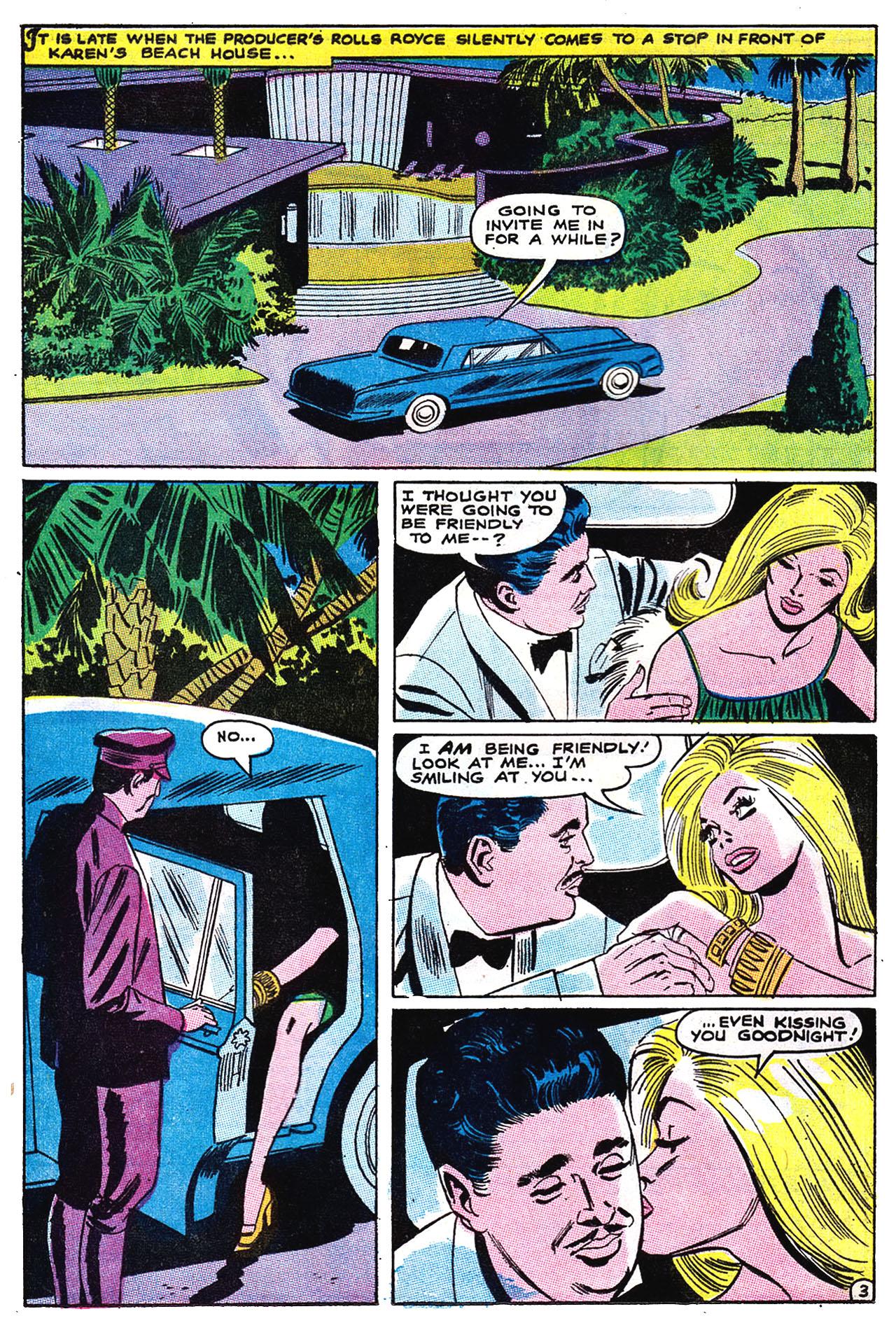 Read online Secret Hearts comic -  Issue #132 - 19