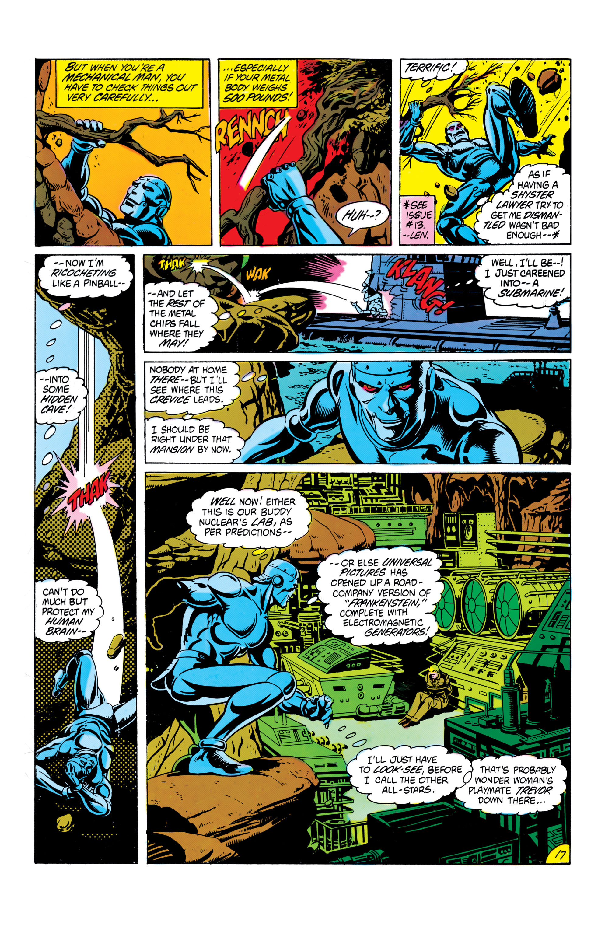 Read online All-Star Squadron comic -  Issue #16 - 18