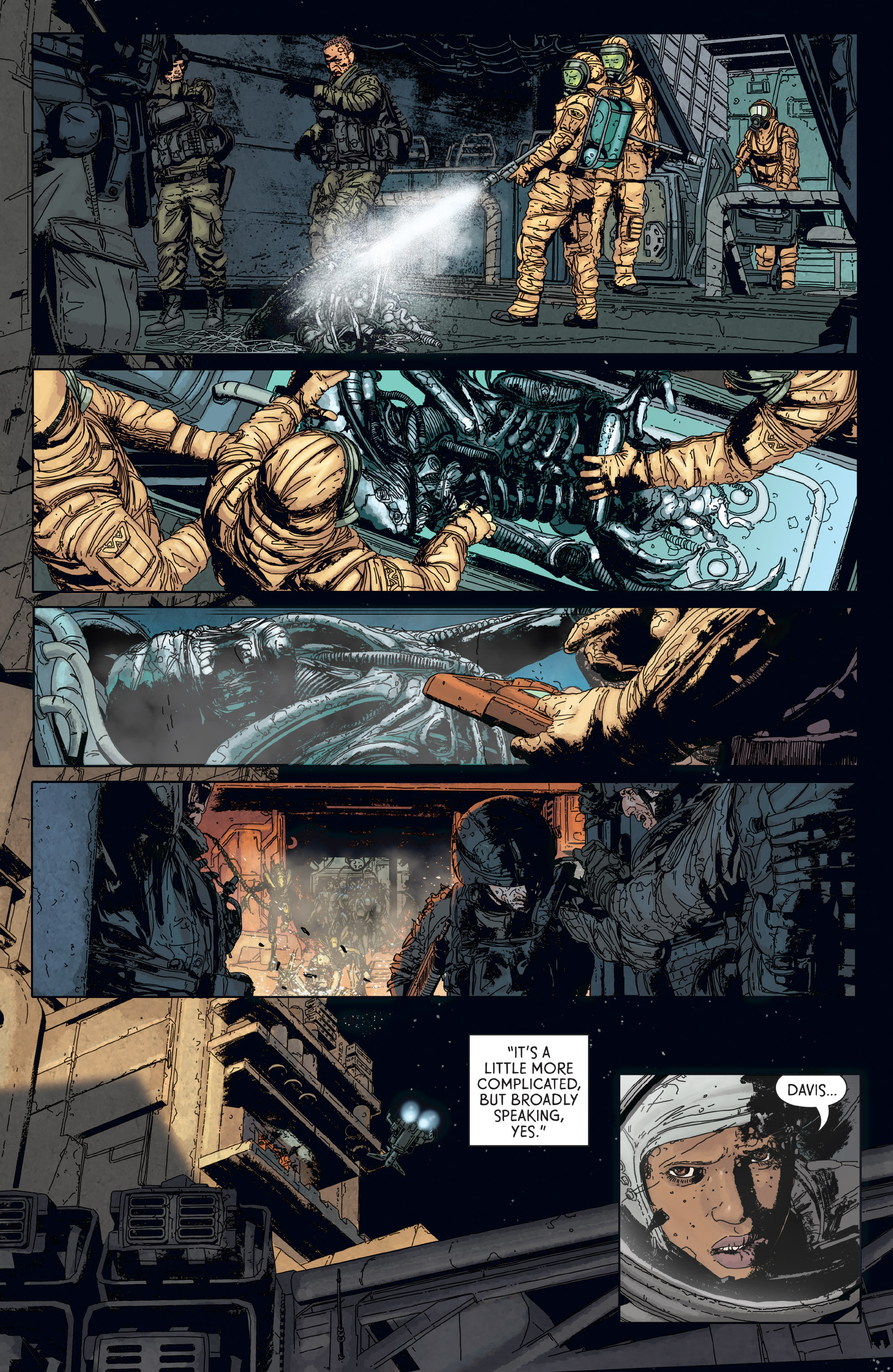 Read online Aliens: Defiance comic -  Issue #6 - 17