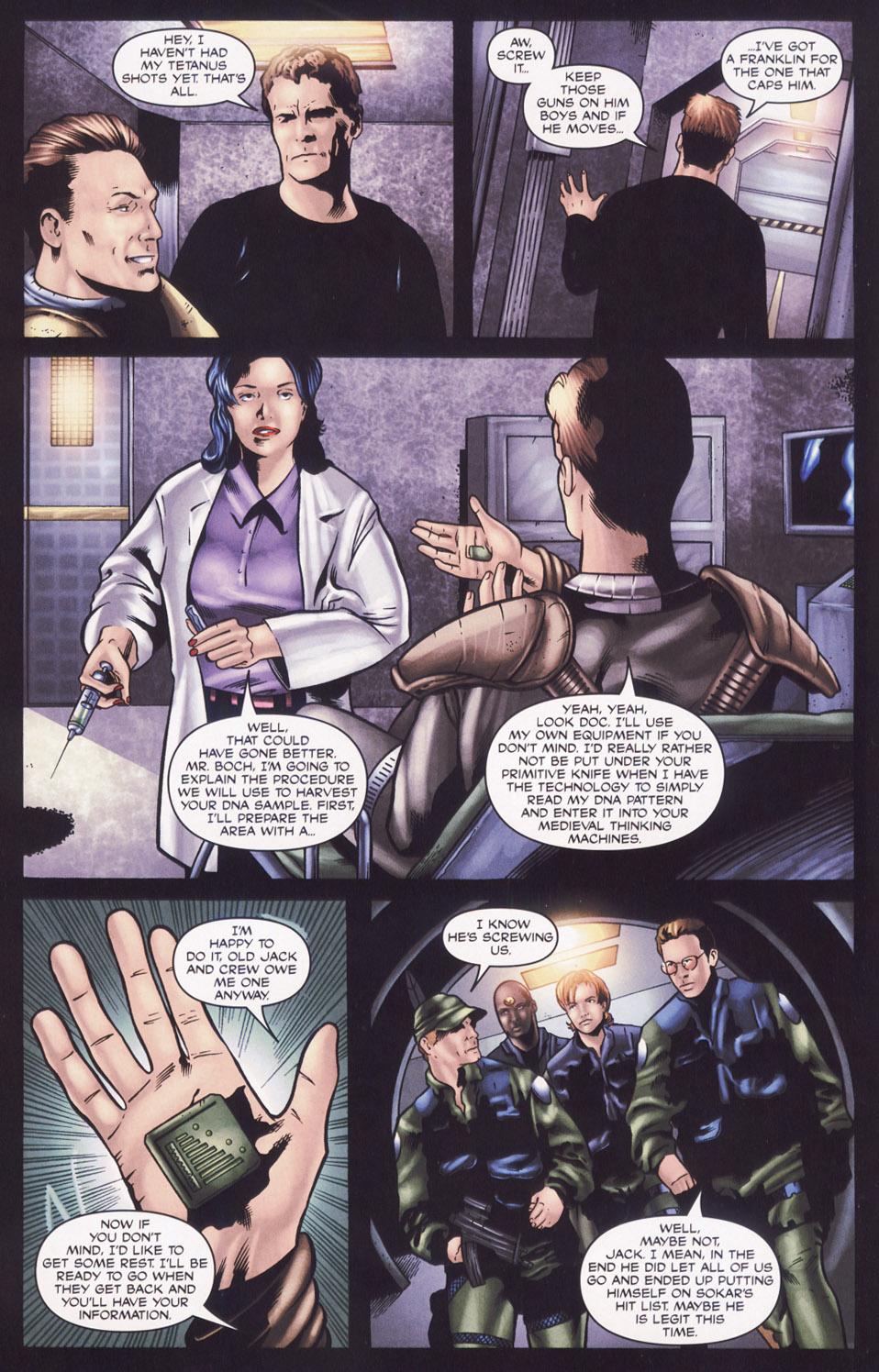 Read online Stargate SG-1: Aris Boch comic -  Issue # Full - 10