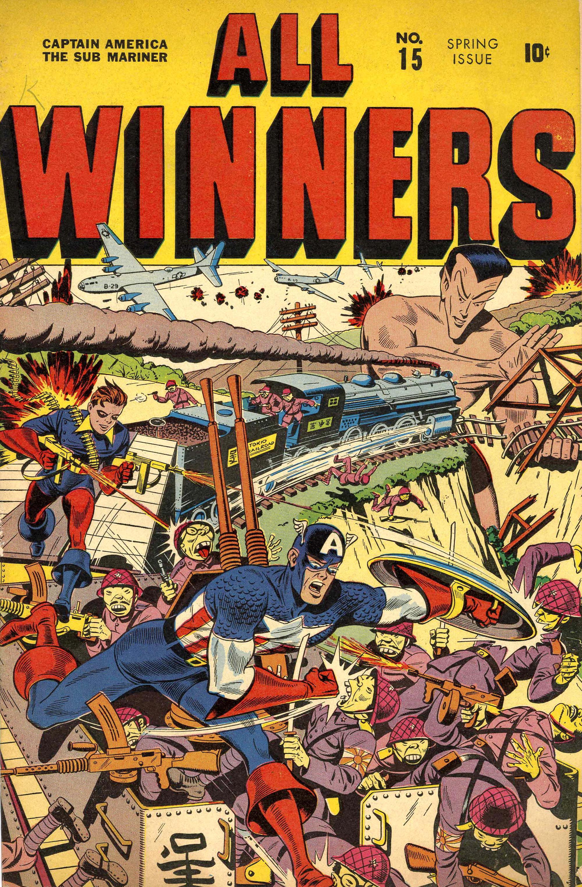 Read online All-Winners Comics comic -  Issue #15 - 37