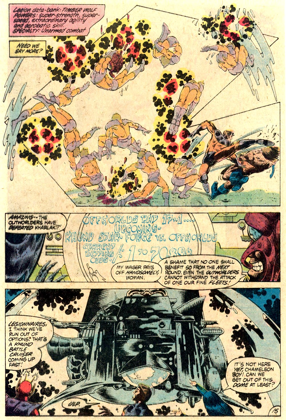 Legion of Super-Heroes (1980) 287 Page 15