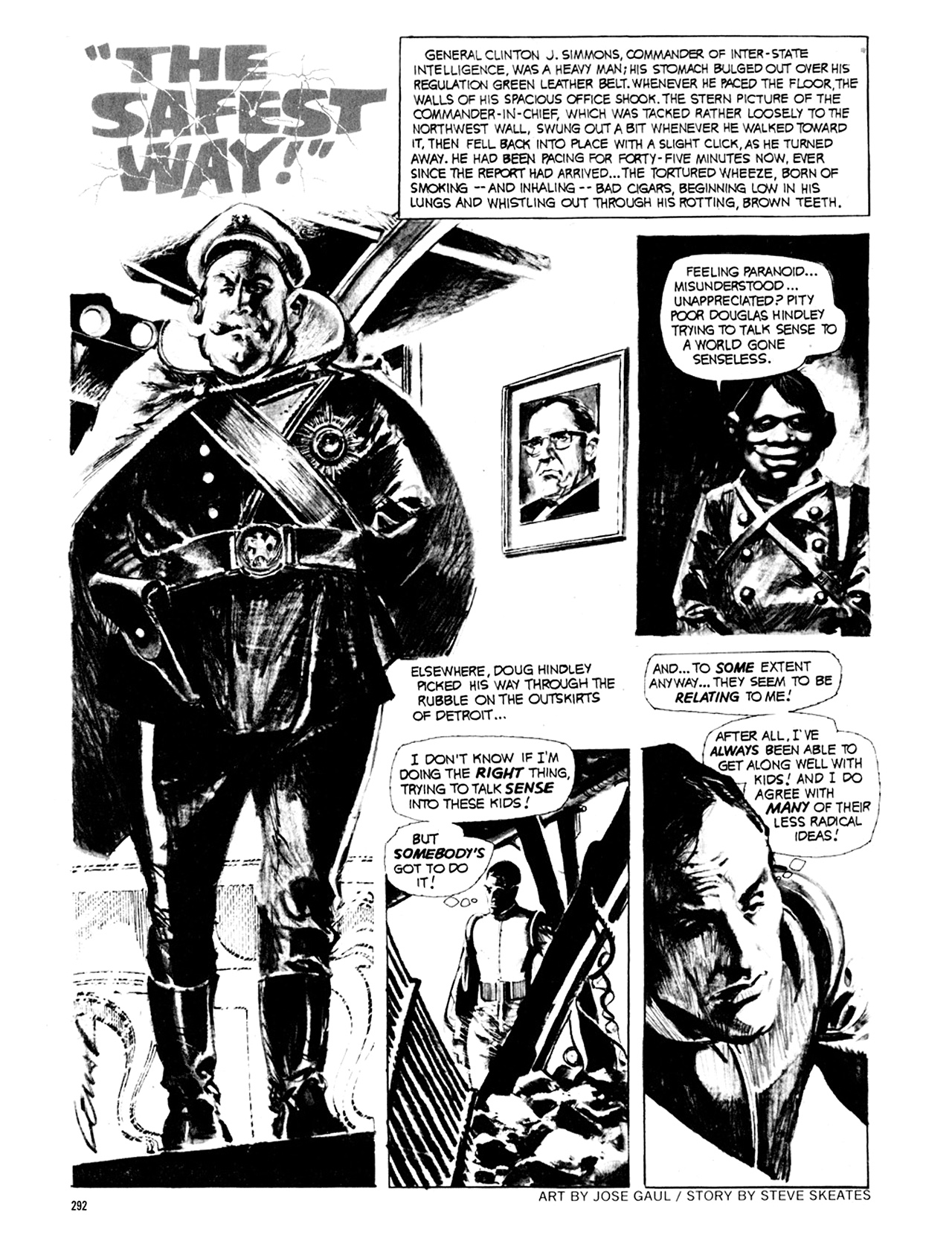Read online Eerie Archives comic -  Issue # TPB 8 - 293
