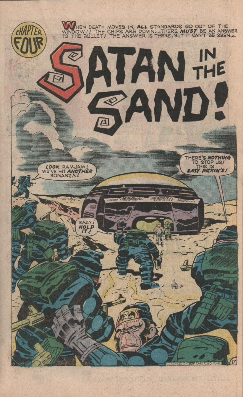 Kamandi, The Last Boy On Earth issue 32 - Page 19
