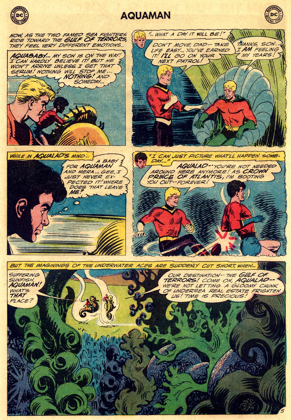 Read online Aquaman (1962) comic -  Issue #23 - 8