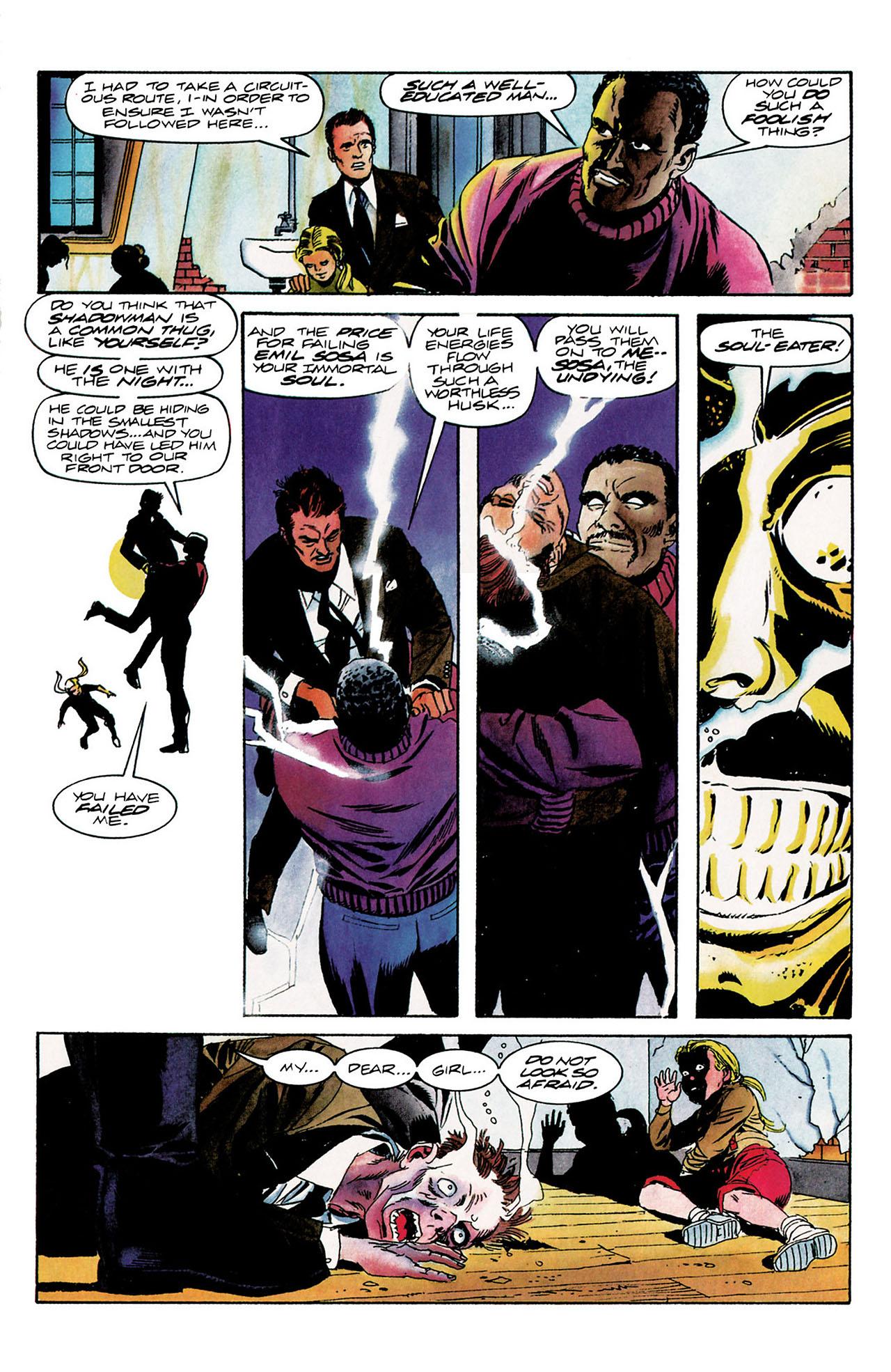 Read online Shadowman (1992) comic -  Issue #9 - 6