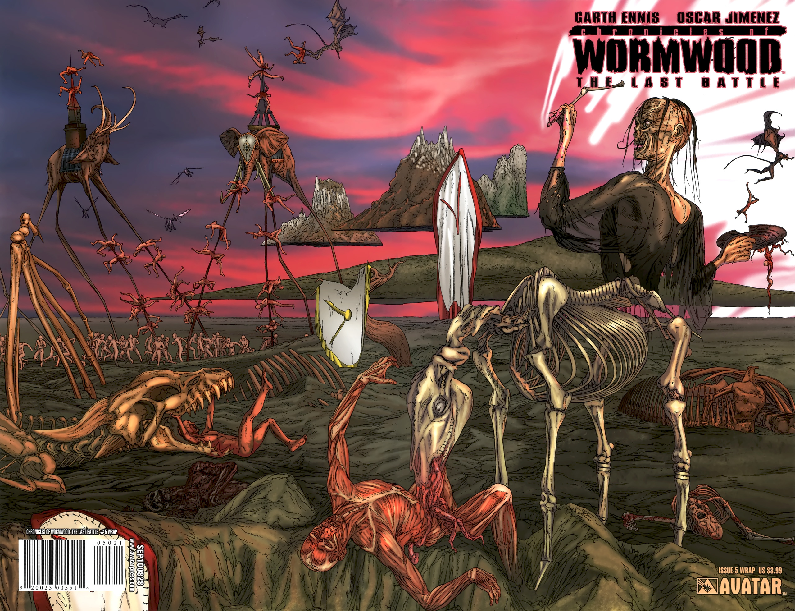 Read online Chronicles of Wormwood: The Last Battle comic -  Issue #5 - 2
