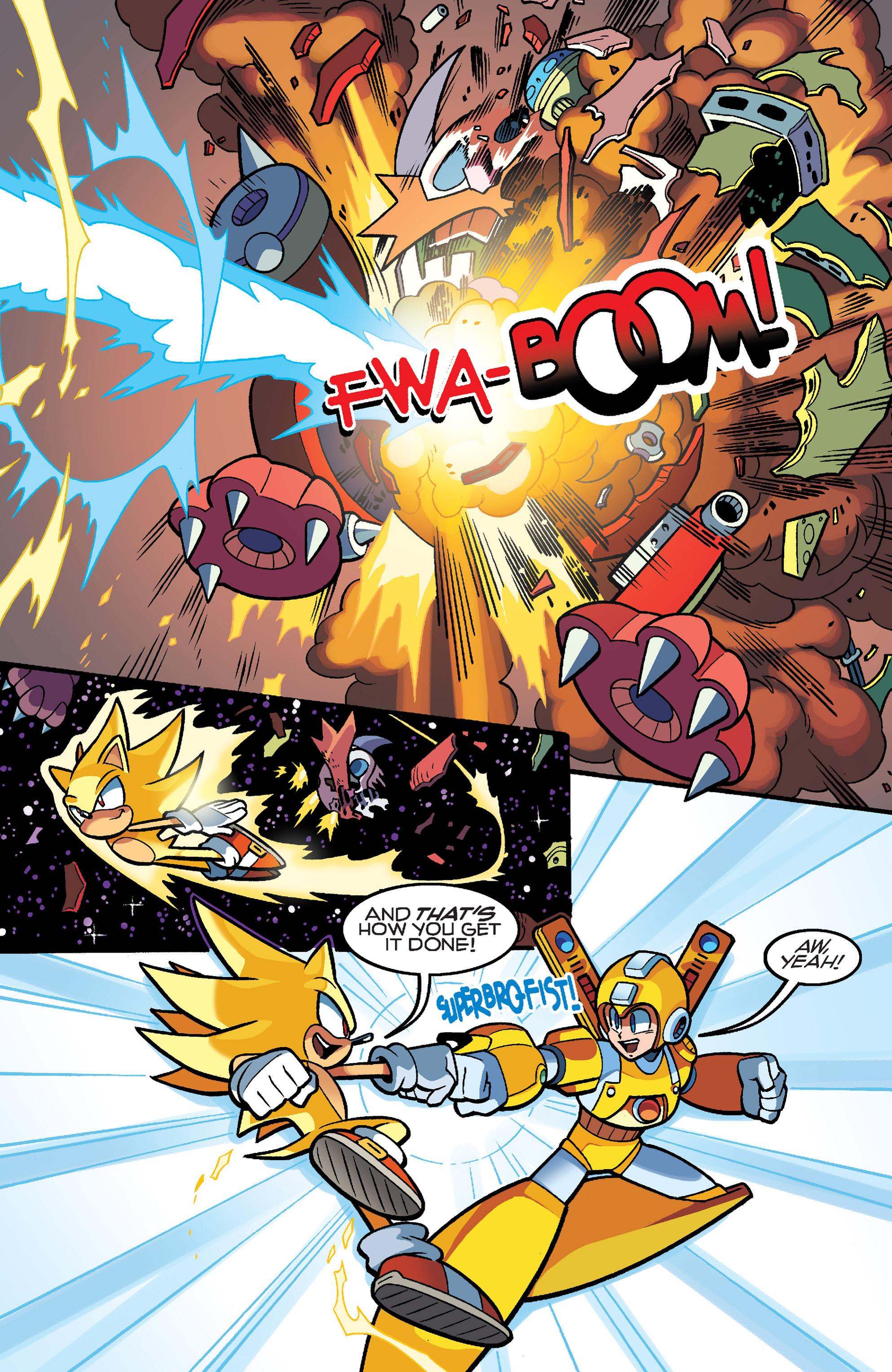 Read online Sonic Mega Man Worlds Collide comic -  Issue # Vol 3 - 112