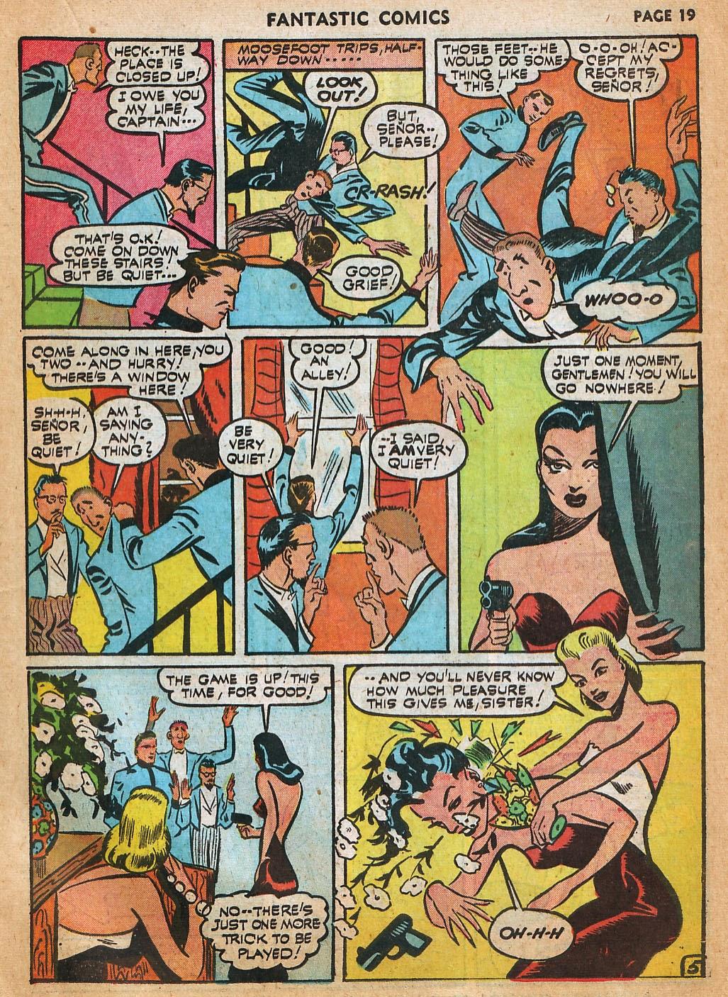 Read online Fantastic Comics comic -  Issue #22 - 21