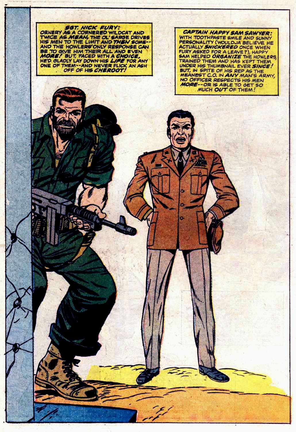 Read online Sgt. Fury comic -  Issue # _Special 3 - 58