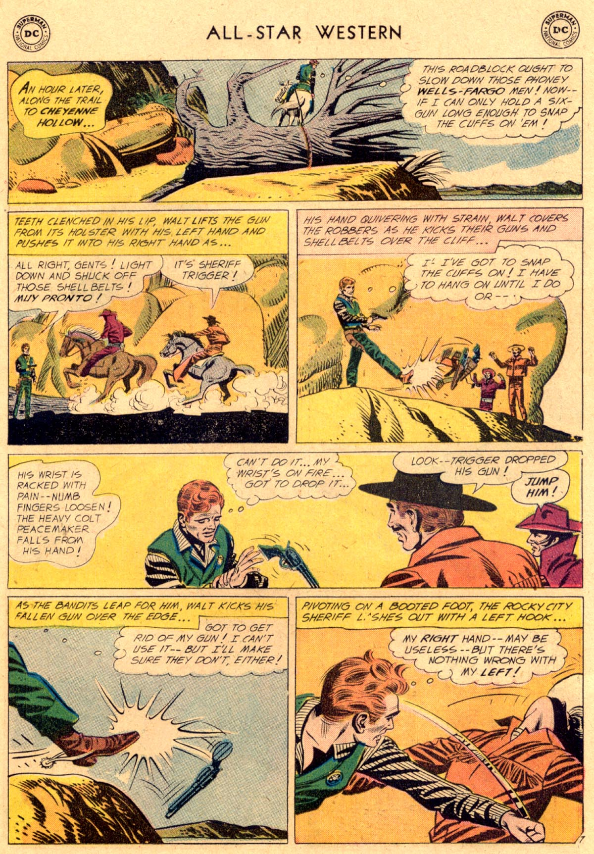 Read online All-Star Western (1951) comic -  Issue #112 - 31