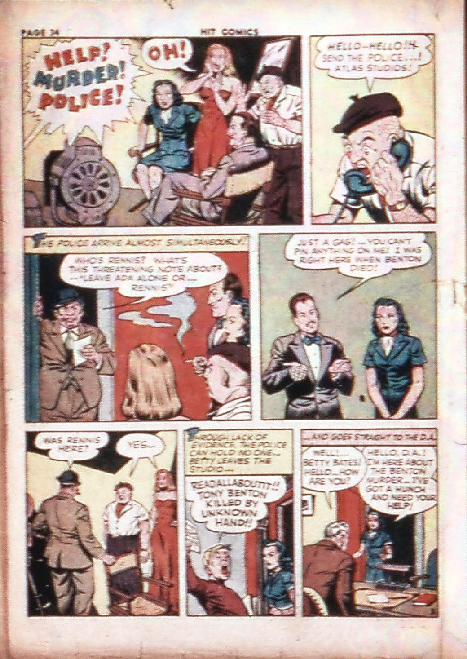 Read online Hit Comics comic -  Issue #29 - 36