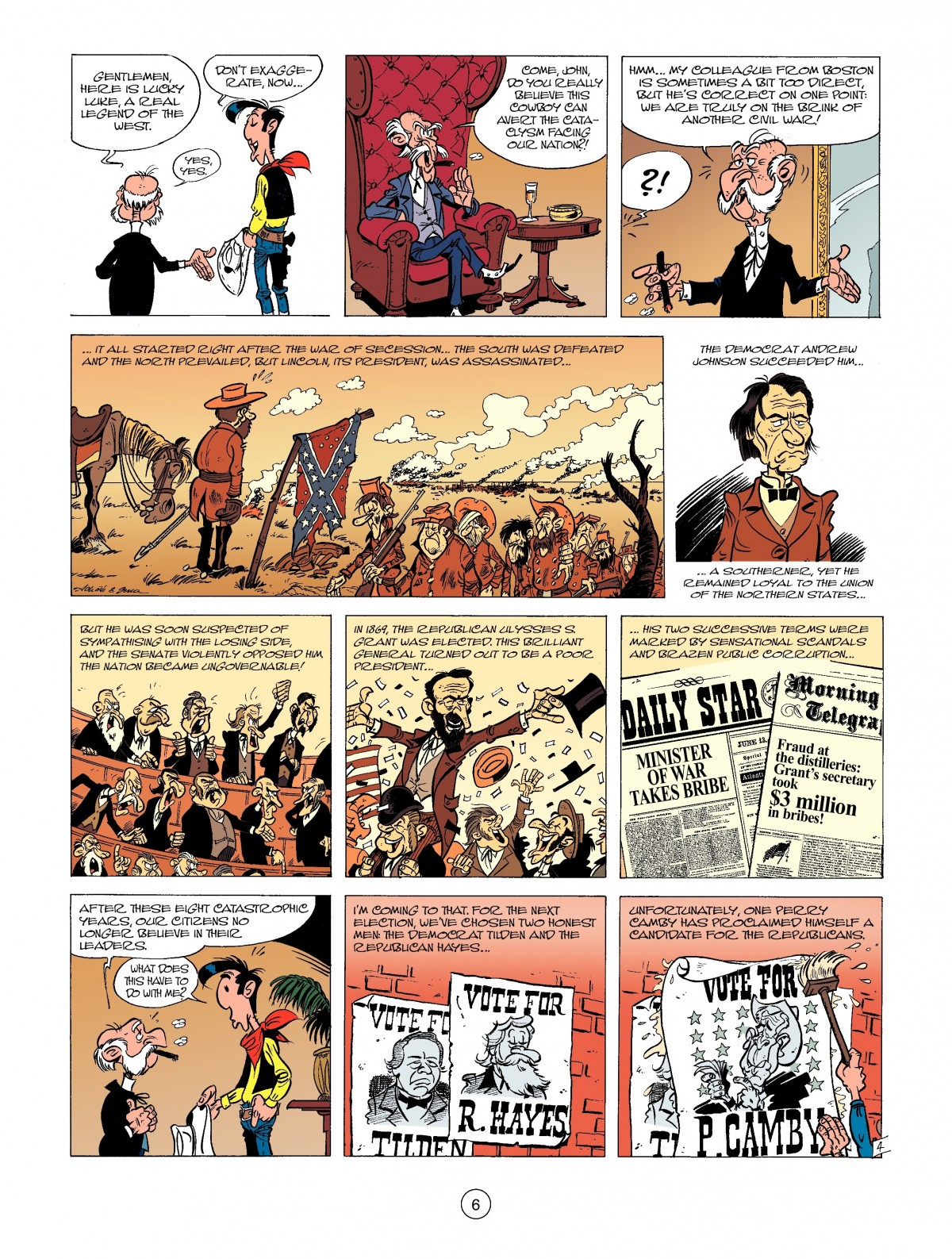 Read online A Lucky Luke Adventure comic -  Issue #39 - 6