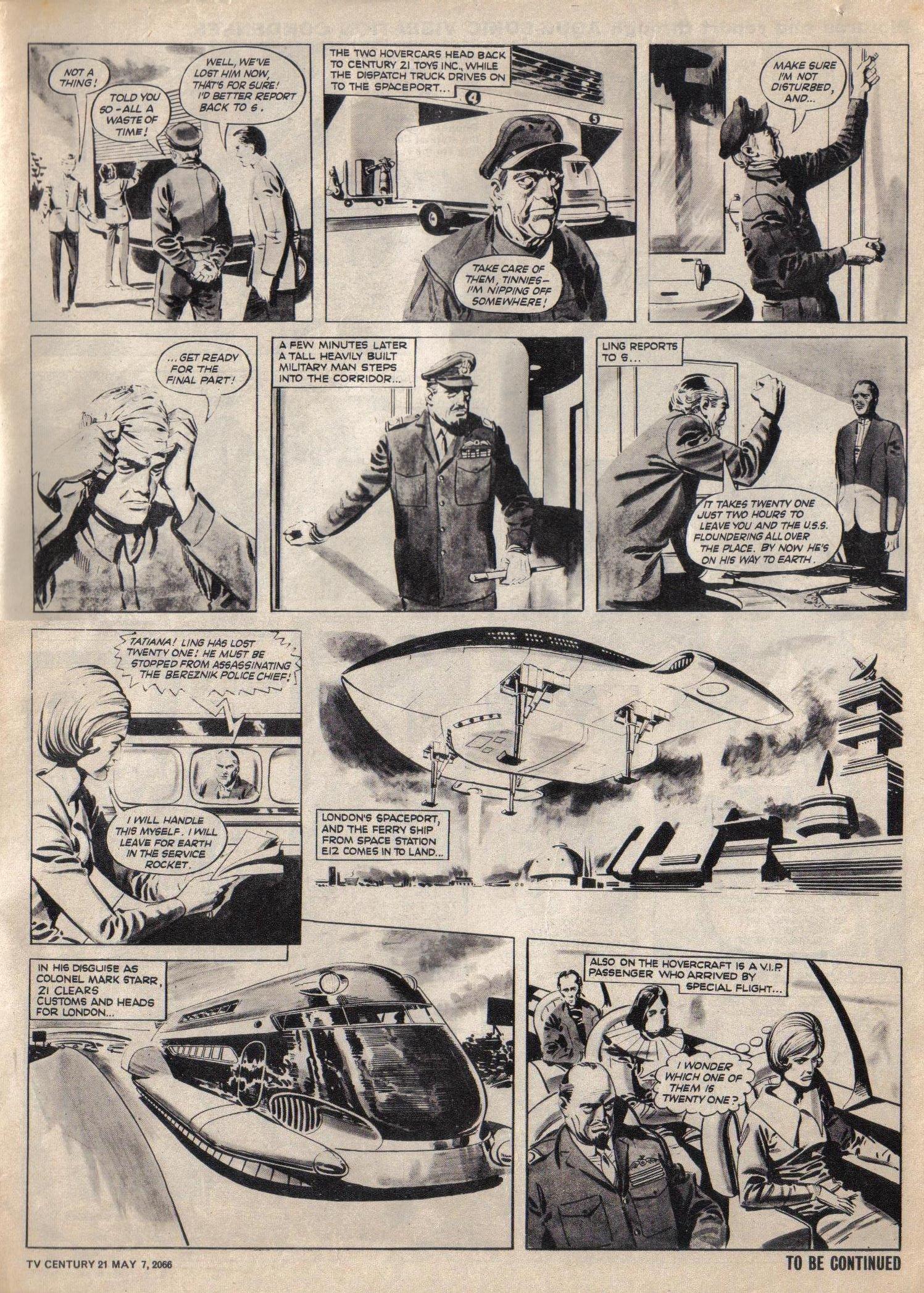 Read online TV Century 21 (TV 21) comic -  Issue #68 - 3