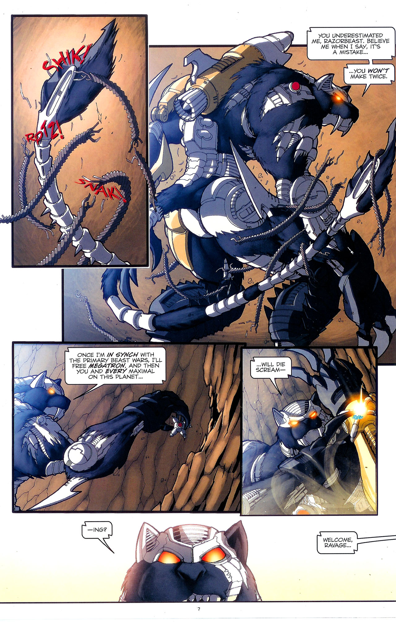 Read online Transformers: Beast Wars: The Ascending comic -  Issue #2 - 10