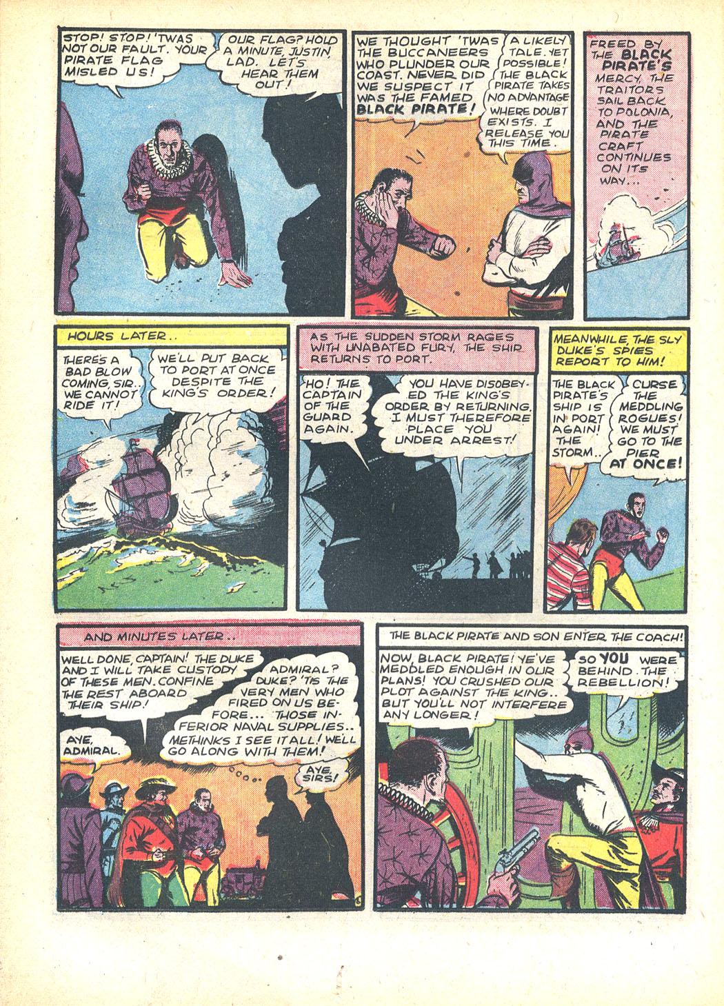 Read online Sensation (Mystery) Comics comic -  Issue #23 - 22