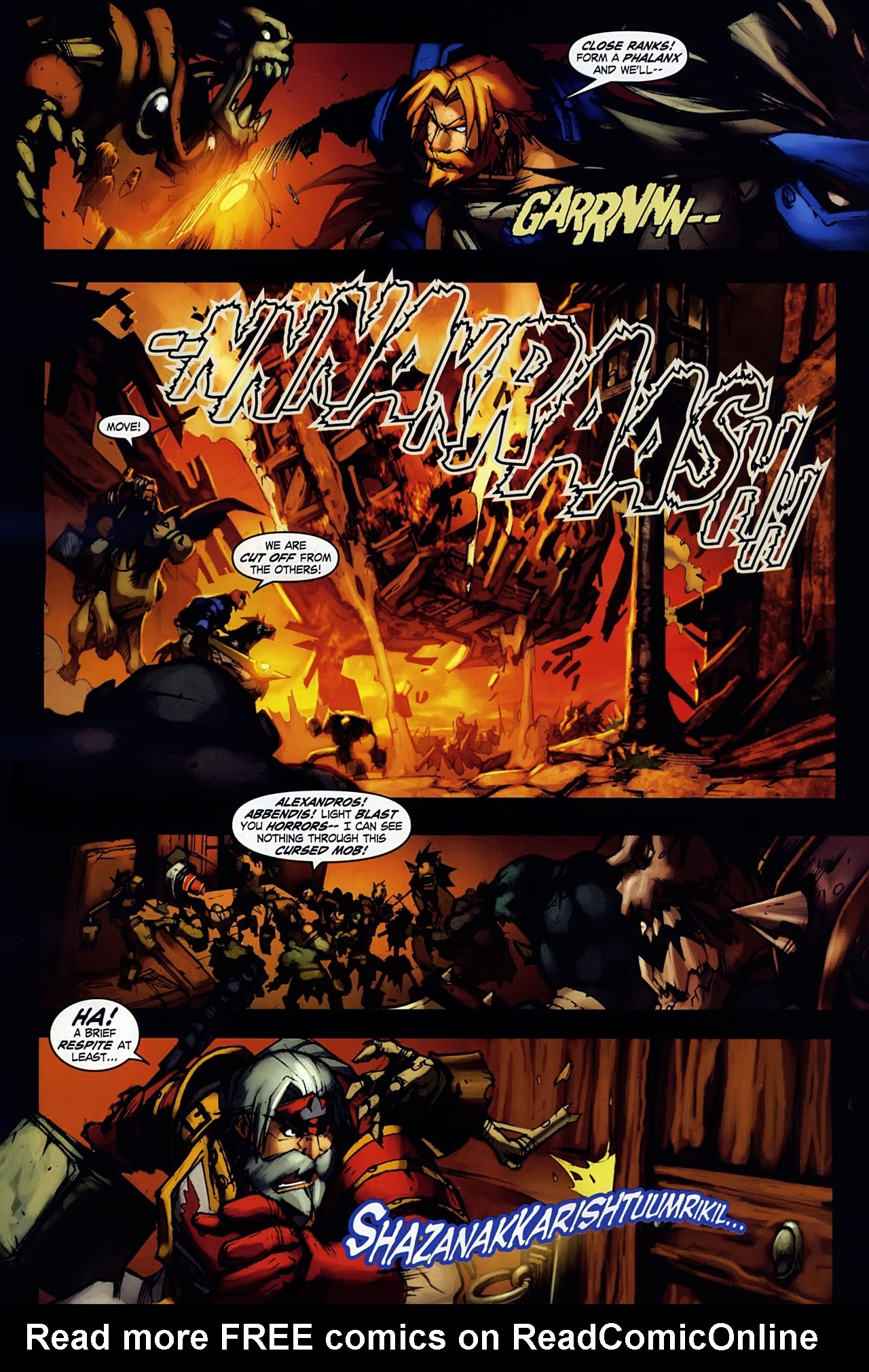 Read online World of Warcraft: Ashbringer comic -  Issue #1 - 20