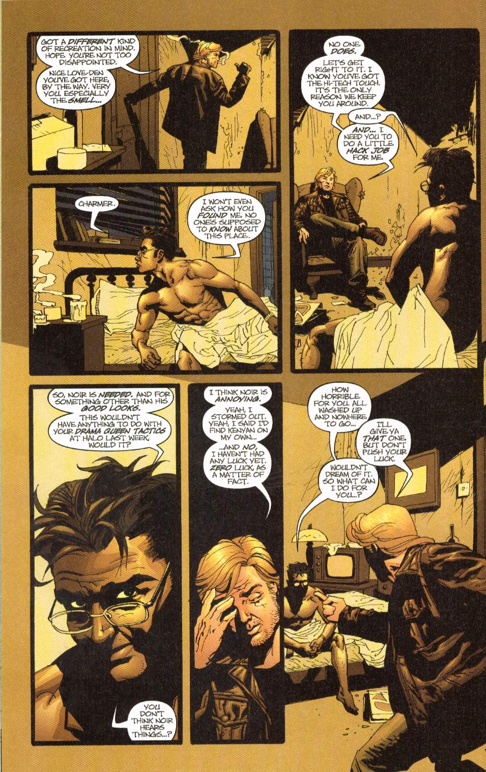 Wildcats (1999) Issue #8 #9 - English 9